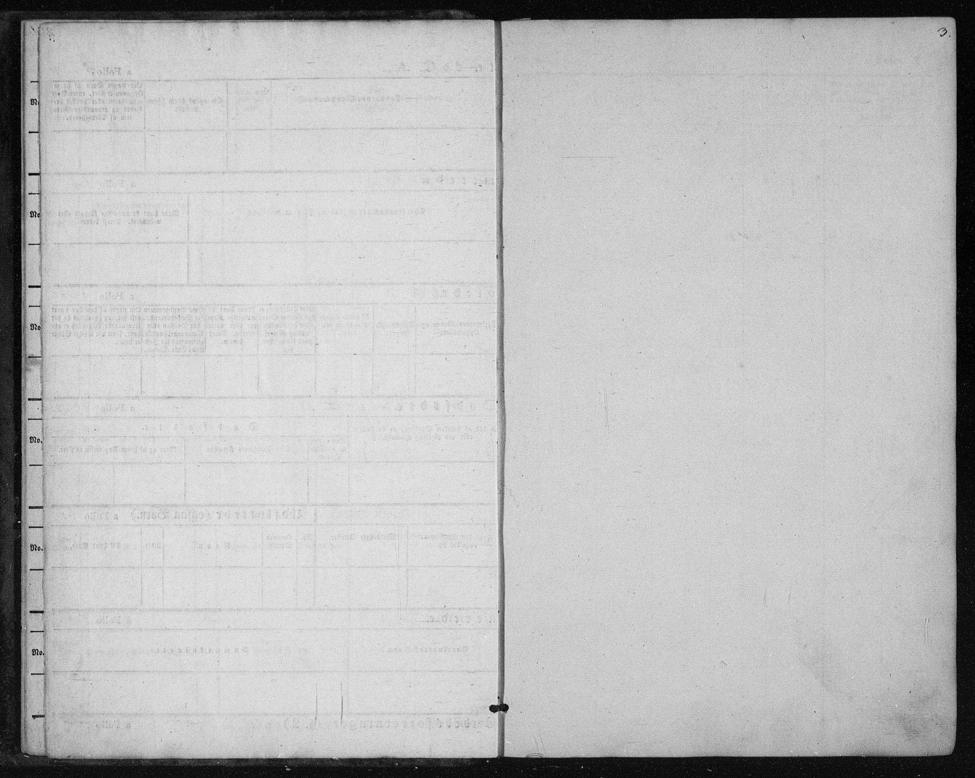 SAKO, Tinn kirkebøker, F/Fa/L0005: Parish register (official) no. I 5, 1844-1856, p. 3