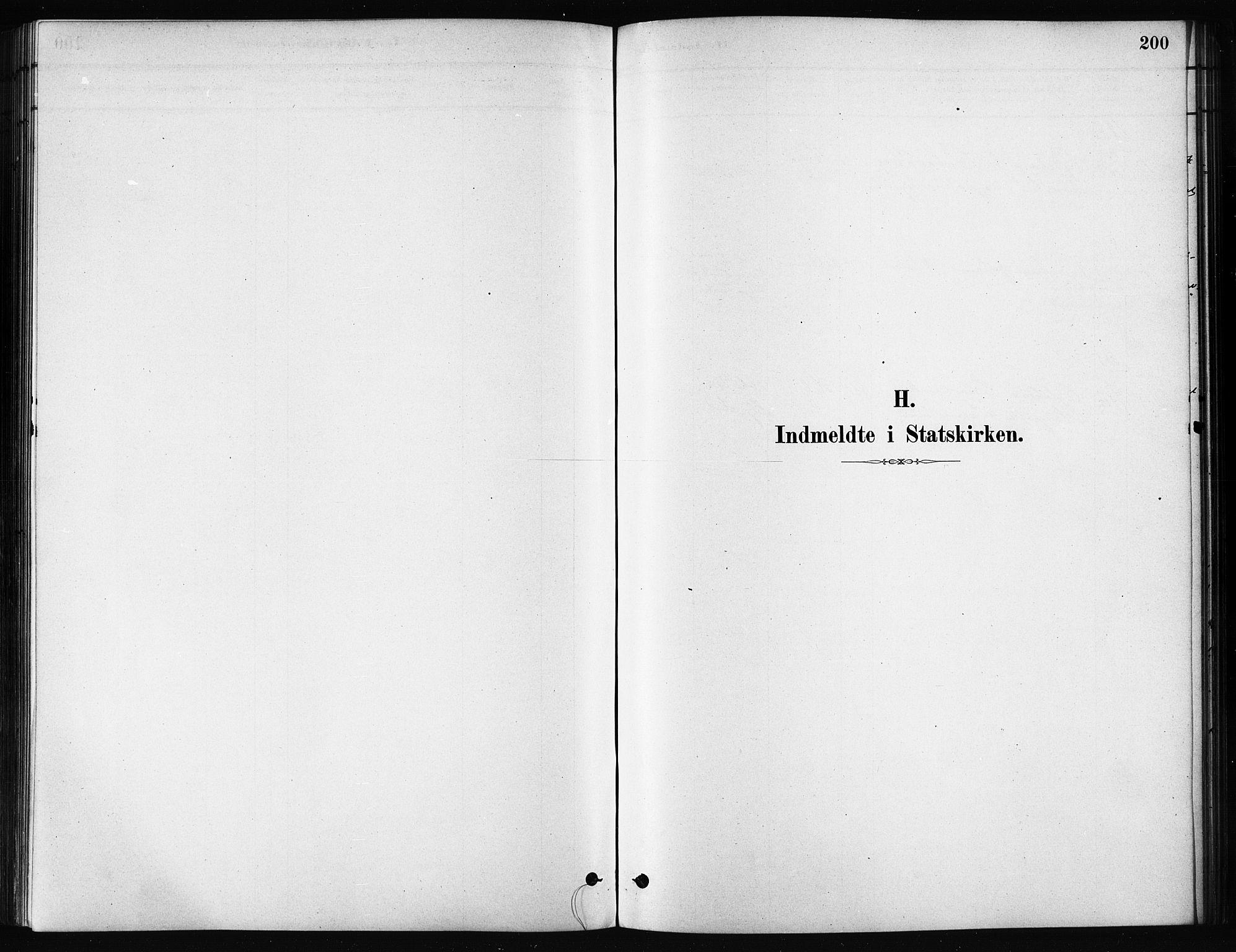 SATØ, Karlsøy sokneprestembete, H/Ha/Haa/L0011kirke: Parish register (official) no. 11, 1879-1892, p. 200