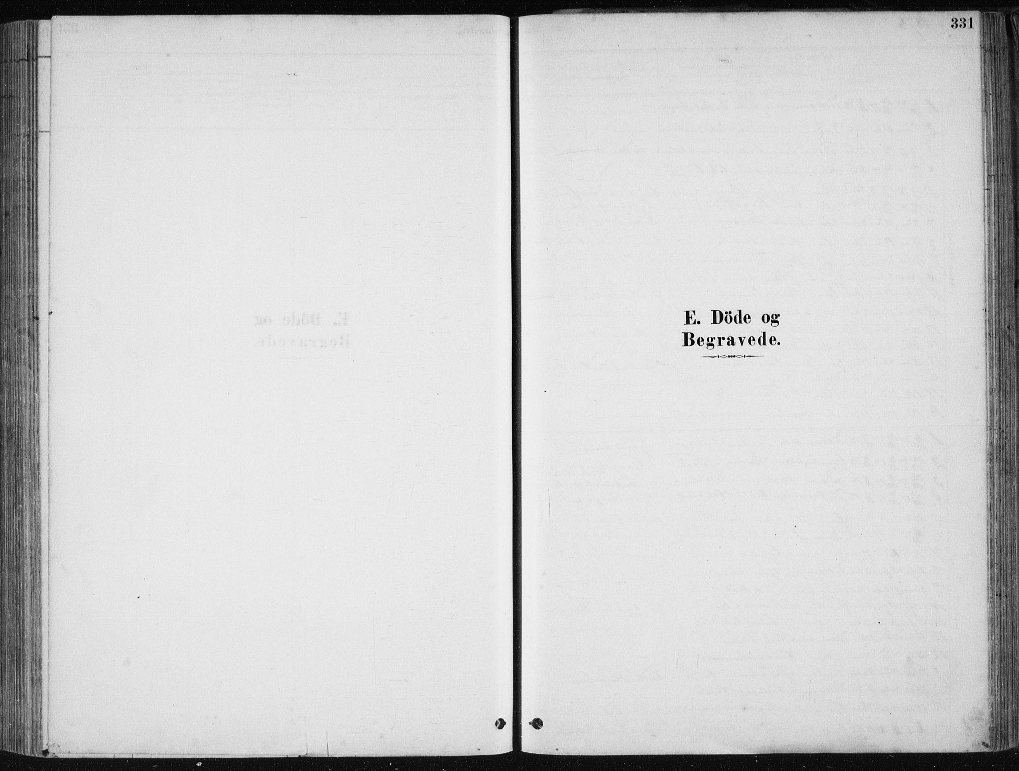 SAB, Fjell sokneprestembete, H/Haa: Parish register (official) no. A  8, 1878-1898, p. 331