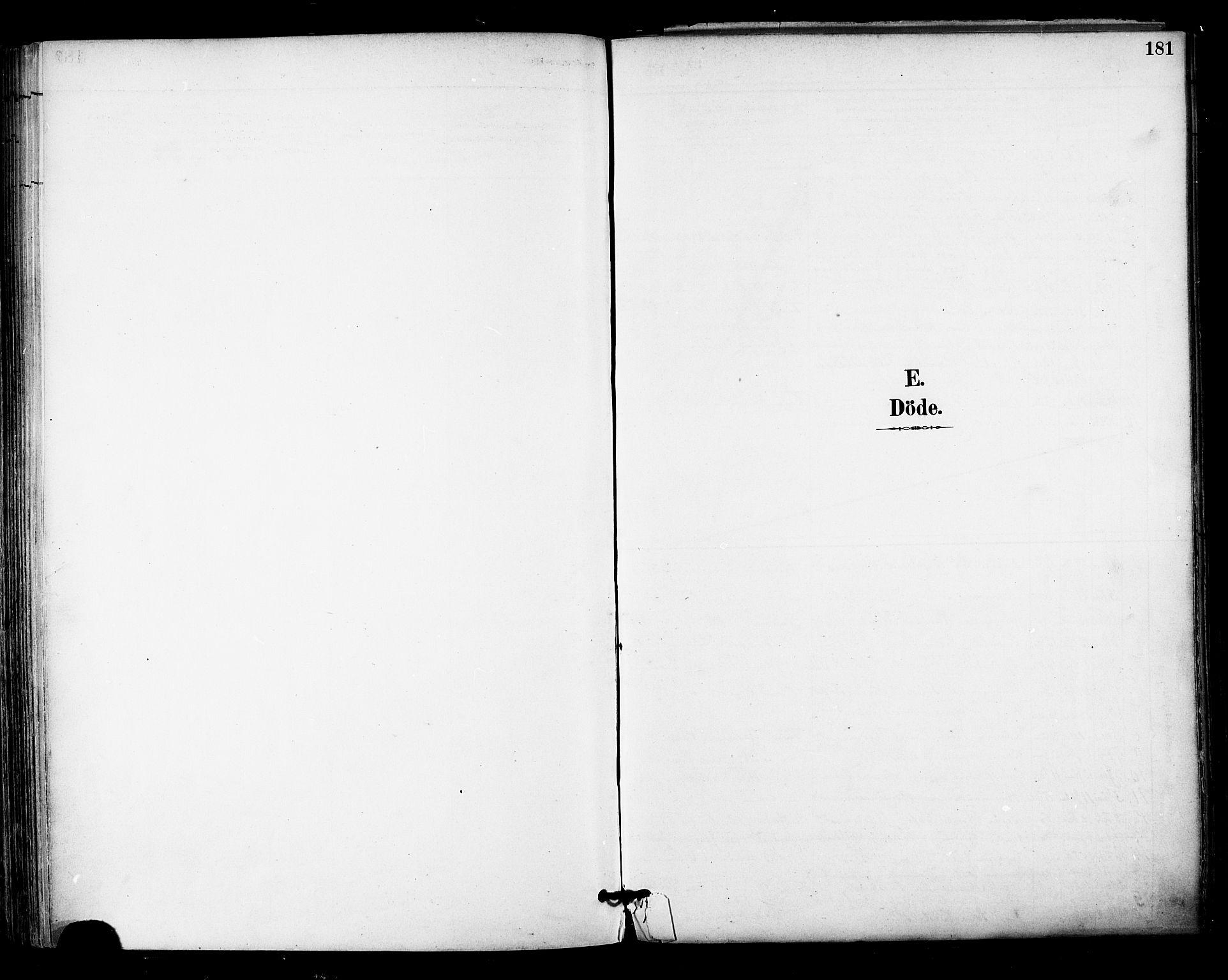 SAT, Ministerialprotokoller, klokkerbøker og fødselsregistre - Nordland, 813/L0200: Parish register (official) no. 813A10, 1886-1900, p. 181