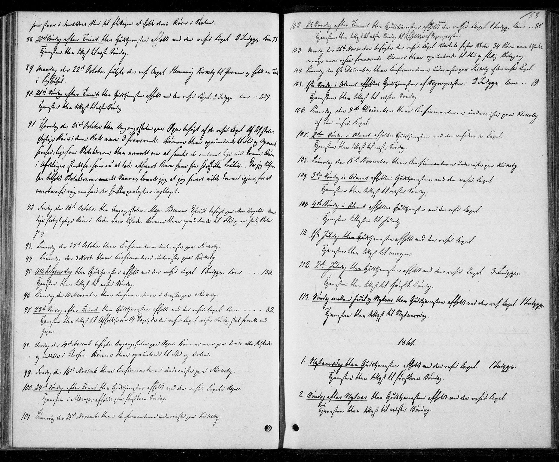 SAT, Ministerialprotokoller, klokkerbøker og fødselsregistre - Nord-Trøndelag, 706/L0040: Parish register (official) no. 706A01, 1850-1861, p. 158