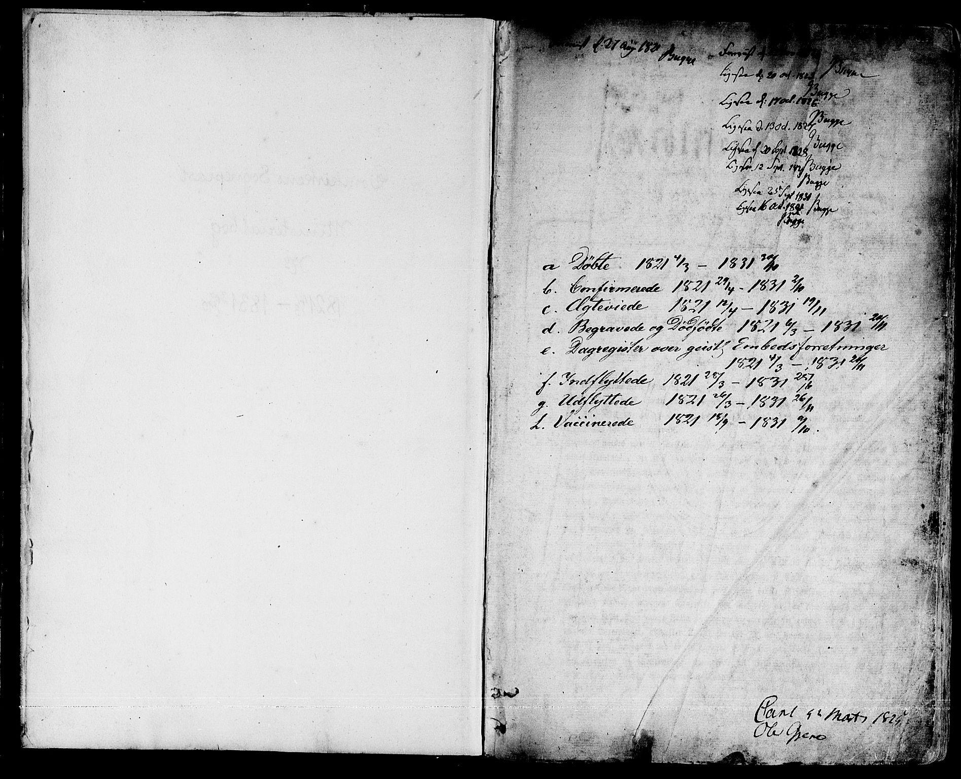 SAT, Ministerialprotokoller, klokkerbøker og fødselsregistre - Sør-Trøndelag, 601/L0045: Parish register (official) no. 601A13, 1821-1831