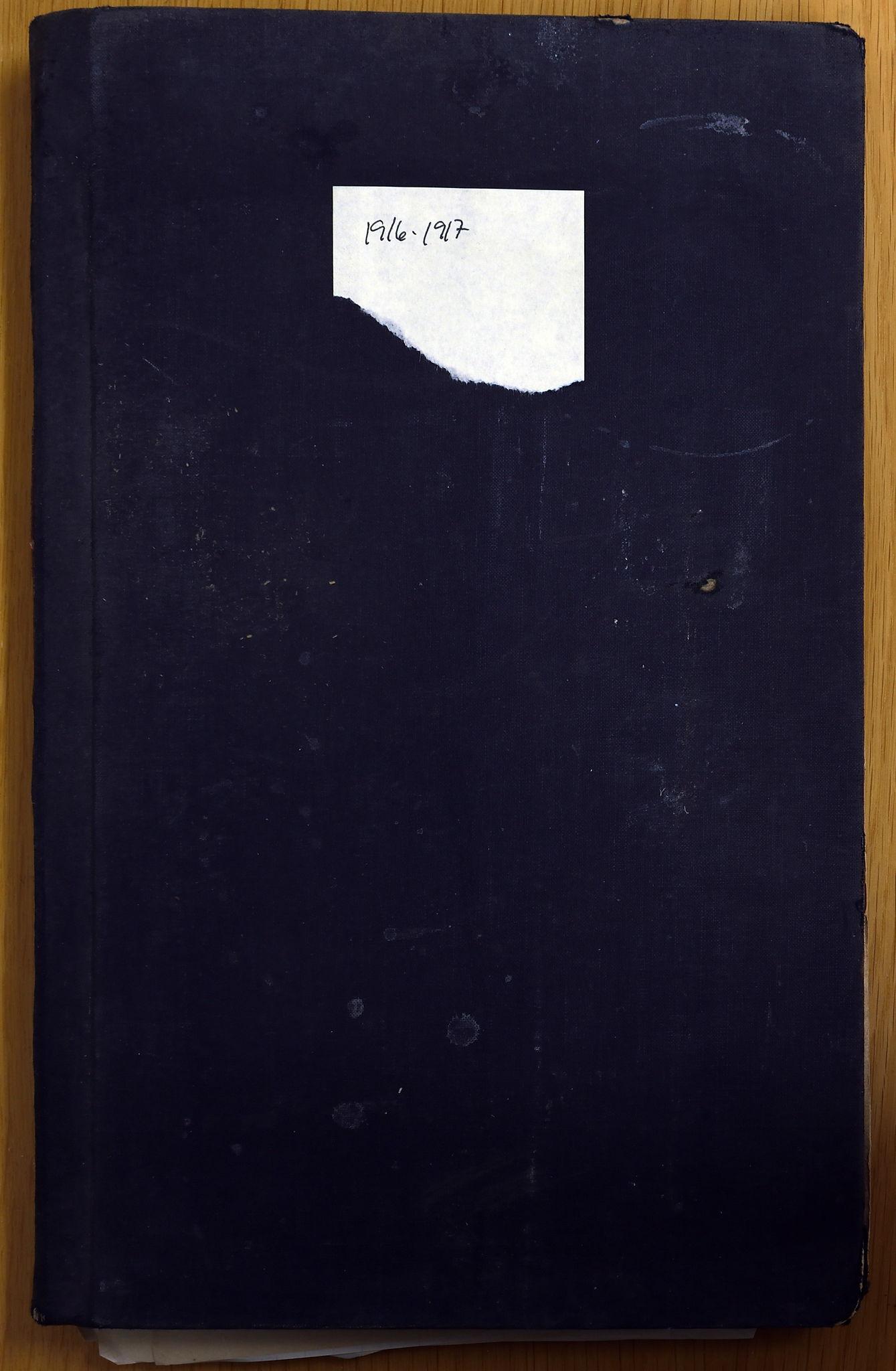 KVT, Vestre Toten municipal archive: Vestre Toten municipal, tax assessment protocol 1916-1917, 1916-1917