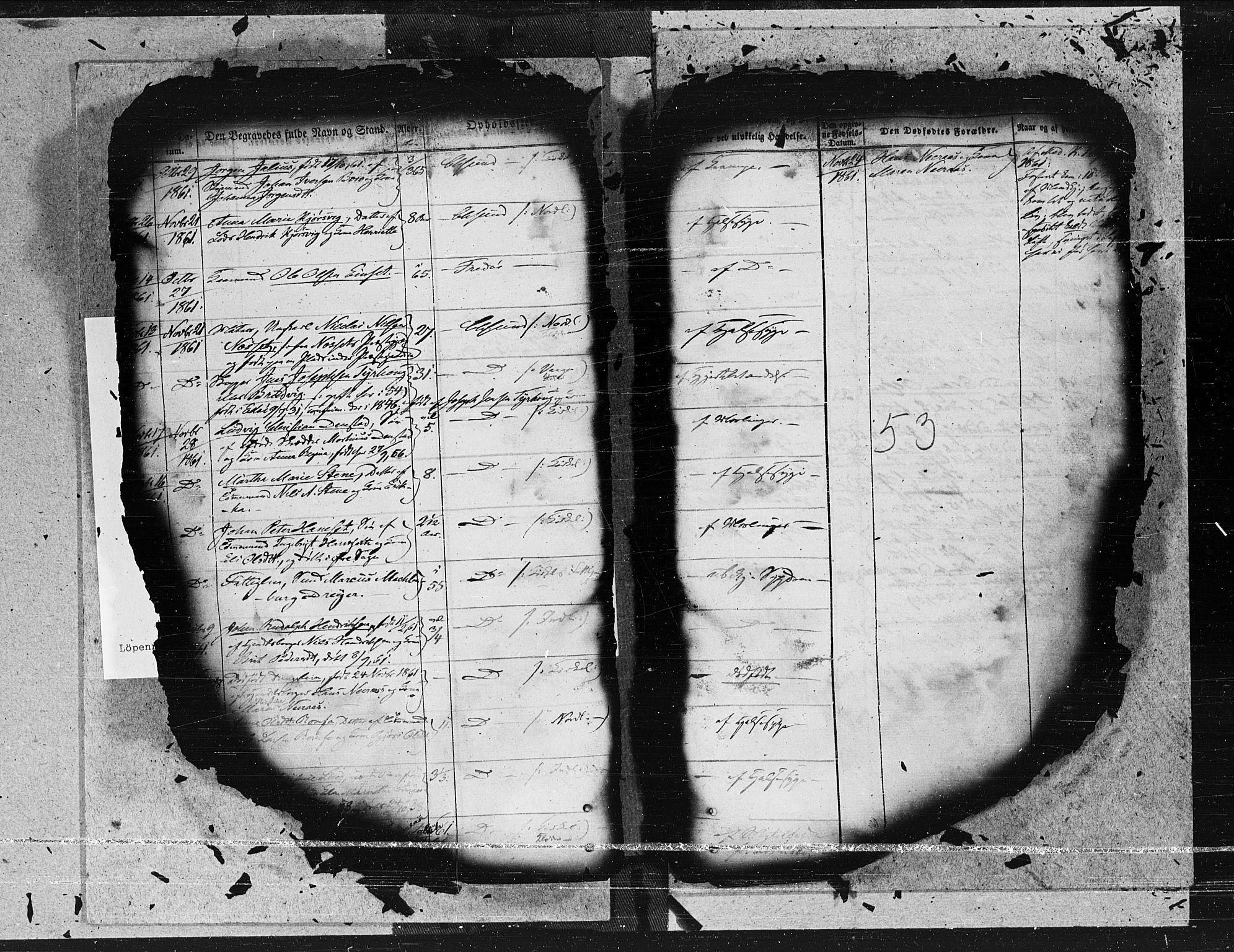 SAT, Arkivreferanse ukjent*, Parish register (official) no. 2b, 1855-1865, p. 53