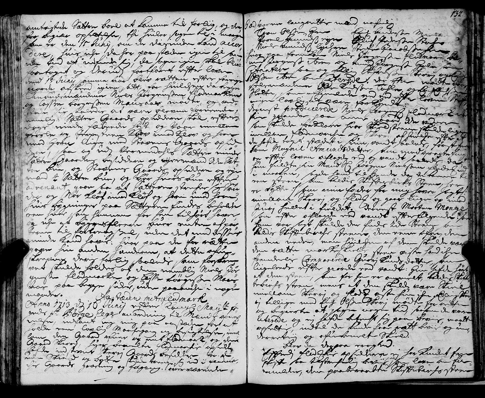 SAT, Romsdal sorenskriveri, 1/1A/L0007: Tingbok, 1711-1714, p. 131b-132a