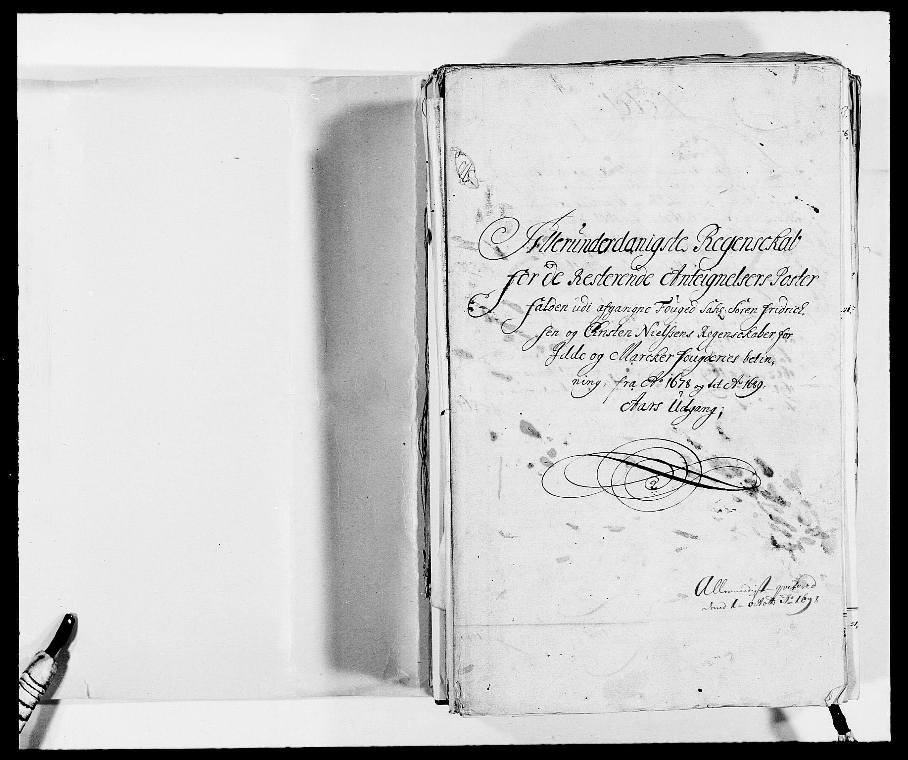 RA, Rentekammeret inntil 1814, Reviderte regnskaper, Fogderegnskap, R01/L0009: Fogderegnskap Idd og Marker, 1689, p. 2