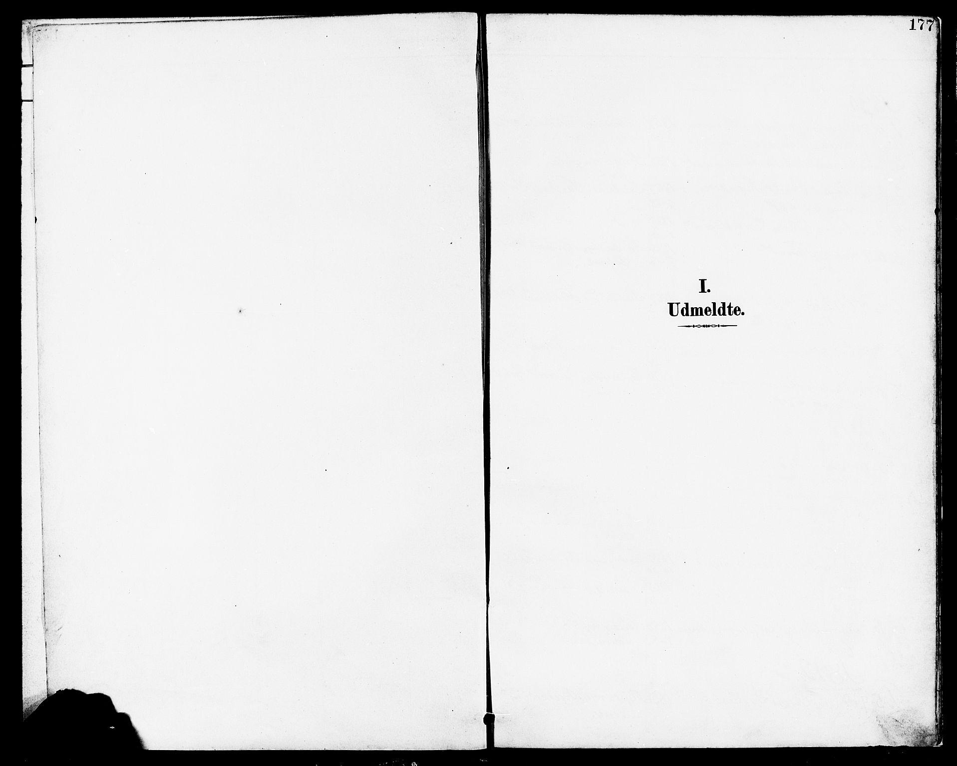 SAST, Høyland sokneprestkontor, 30BA/L0014: Parish register (official) no. A 12, 1890-1898, p. 177