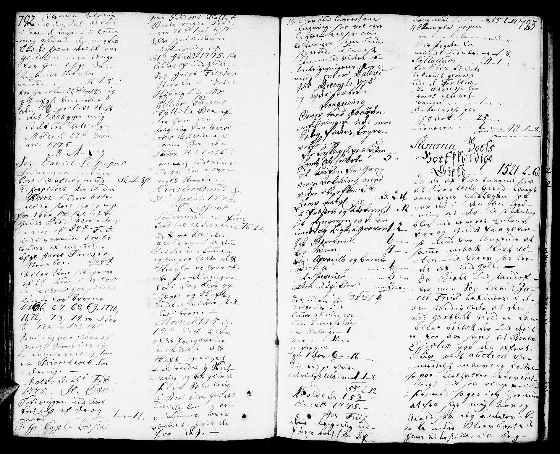 SAT, Molde byfogd, 3/3Aa/L0002: Skifteprotokoll, 1768-1787, p. 792-793