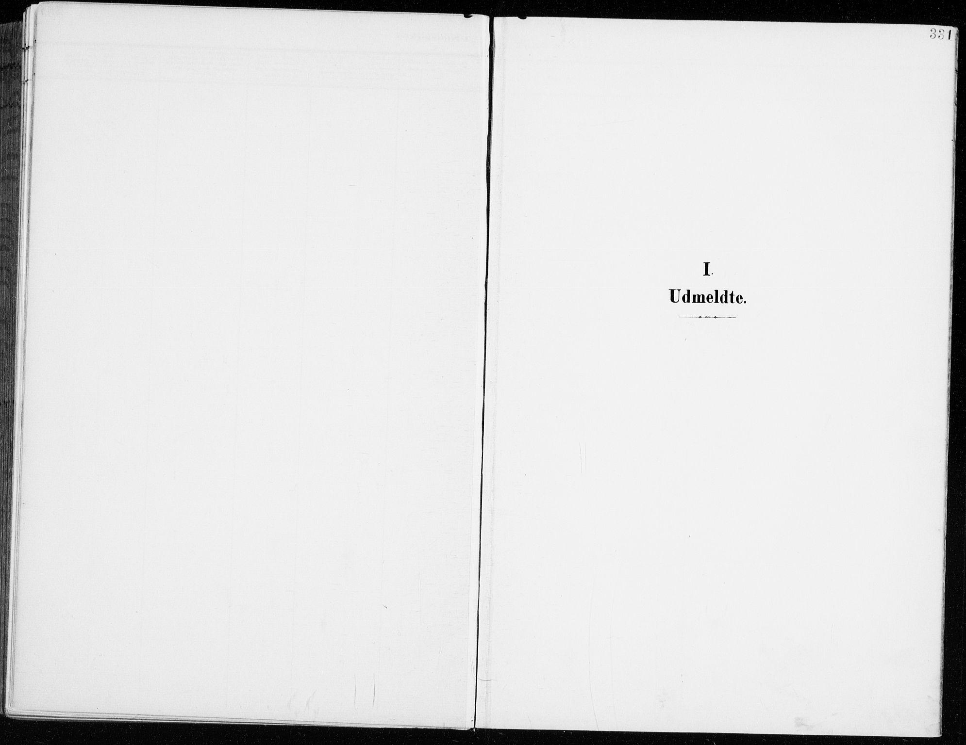 SAH, Fåberg prestekontor, H/Ha/Haa/L0011: Parish register (official) no. 11, 1899-1913, p. 331