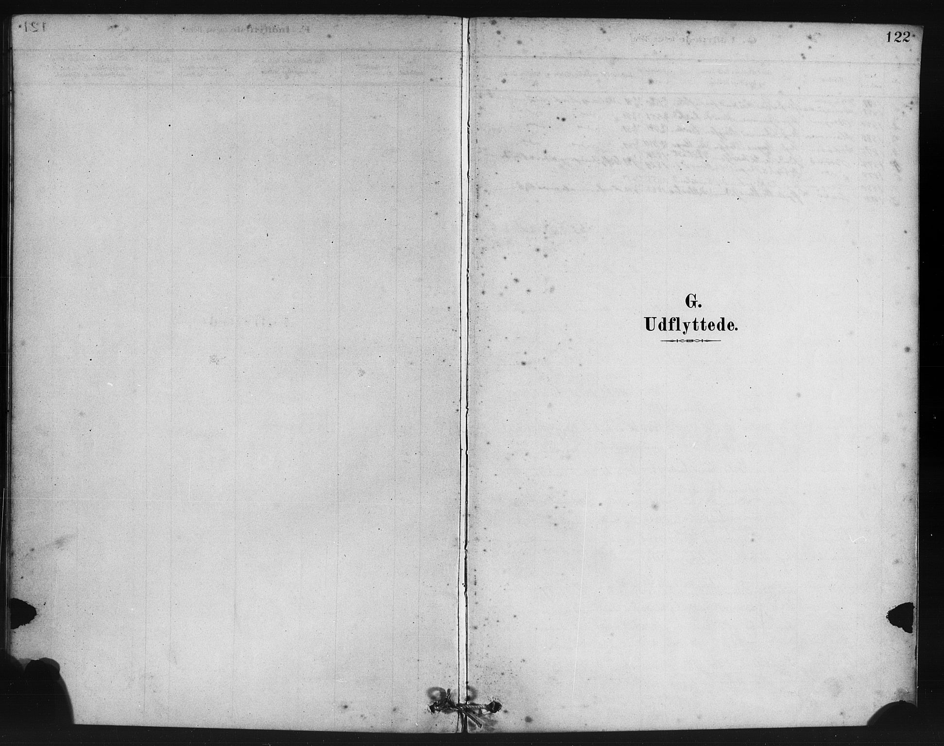 SAB, Manger sokneprestembete, H/Haa: Parish register (official) no. B 1, 1881-1892, p. 122
