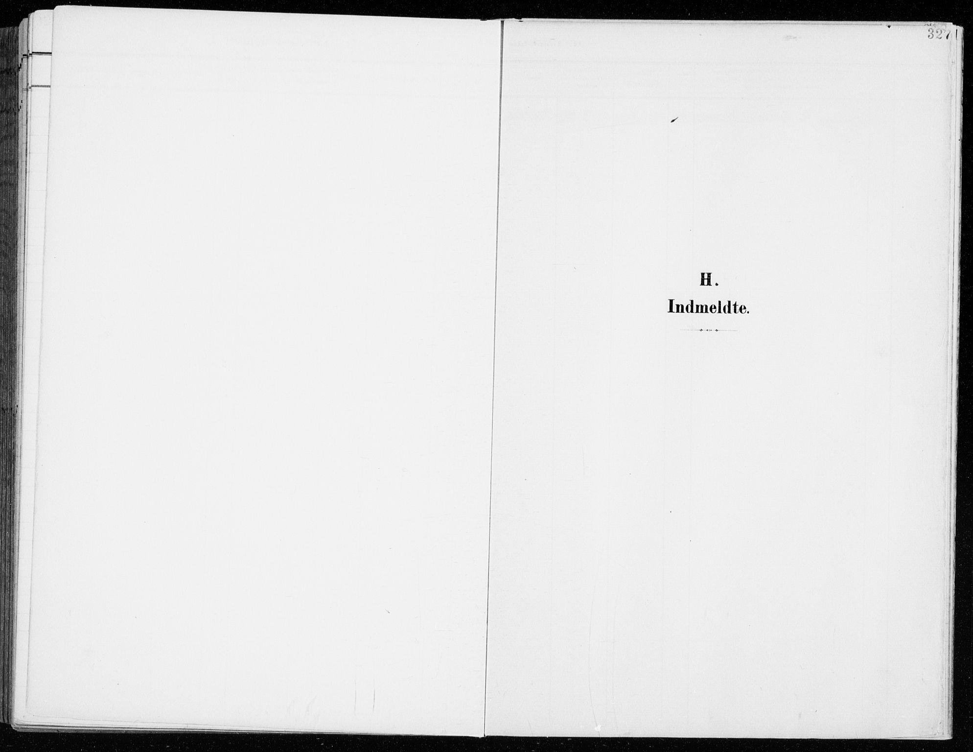 SAH, Fåberg prestekontor, H/Ha/Haa/L0011: Parish register (official) no. 11, 1899-1913, p. 327