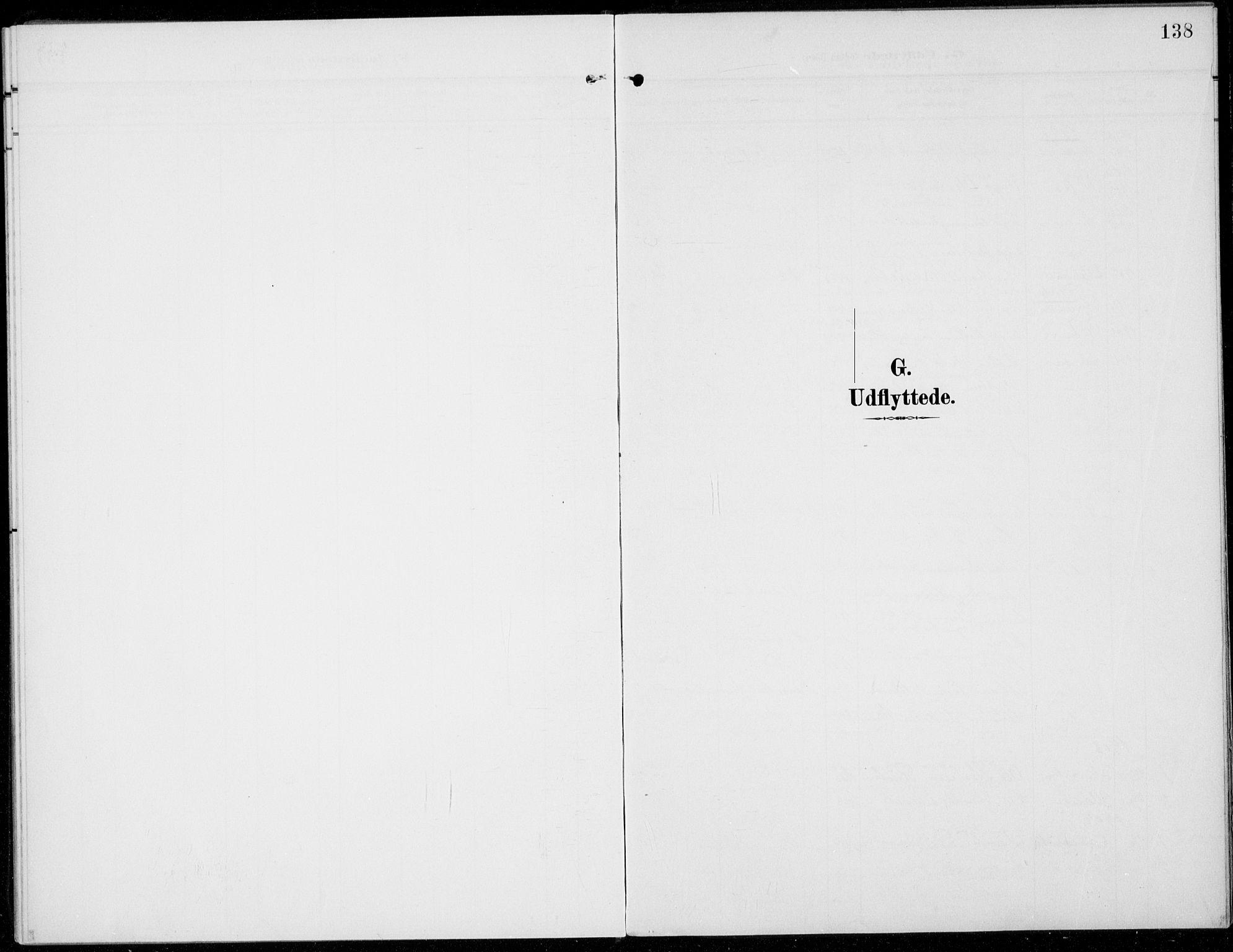 SAH, Sel prestekontor, Parish register (official) no. 1, 1905-1922, p. 138