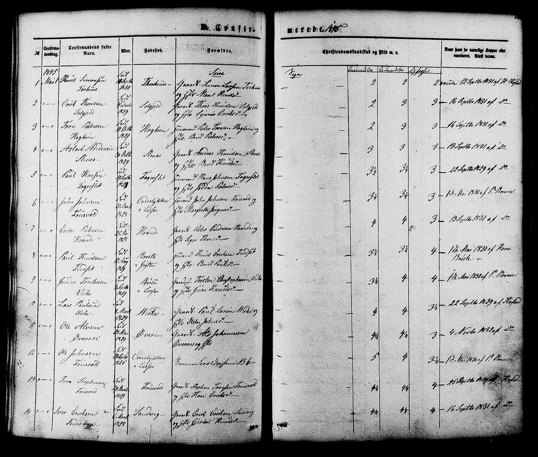 SAT, Ministerialprotokoller, klokkerbøker og fødselsregistre - Møre og Romsdal, 552/L0637: Parish register (official) no. 552A01, 1845-1879, p. 133