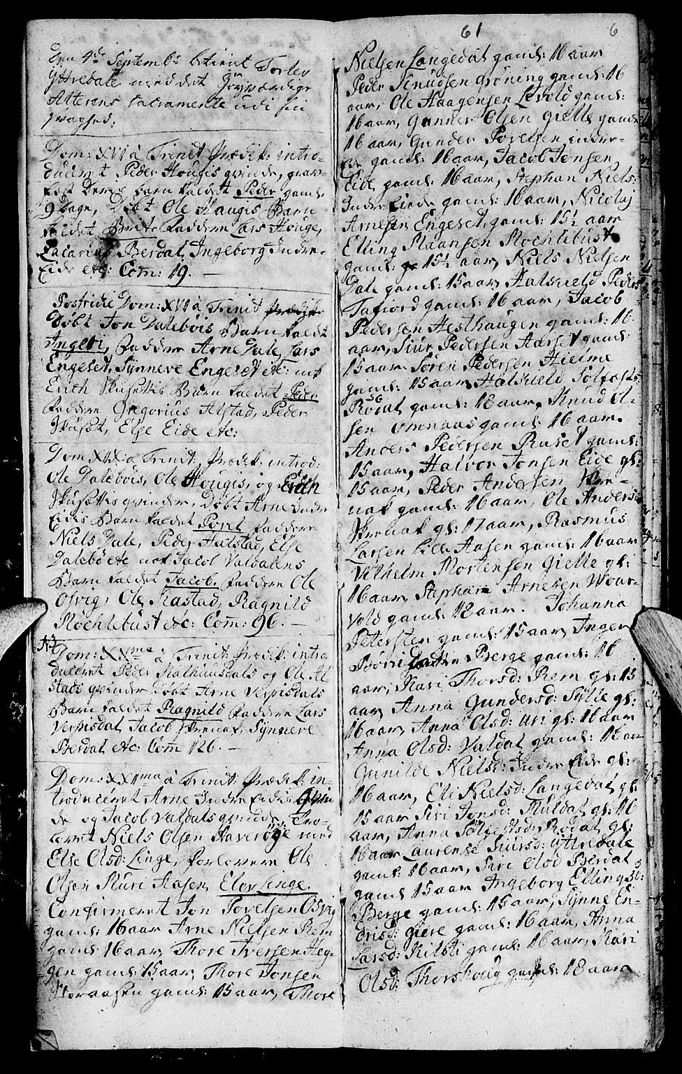 SAT, Ministerialprotokoller, klokkerbøker og fødselsregistre - Møre og Romsdal, 519/L0243: Parish register (official) no. 519A02, 1760-1770, p. 5-6