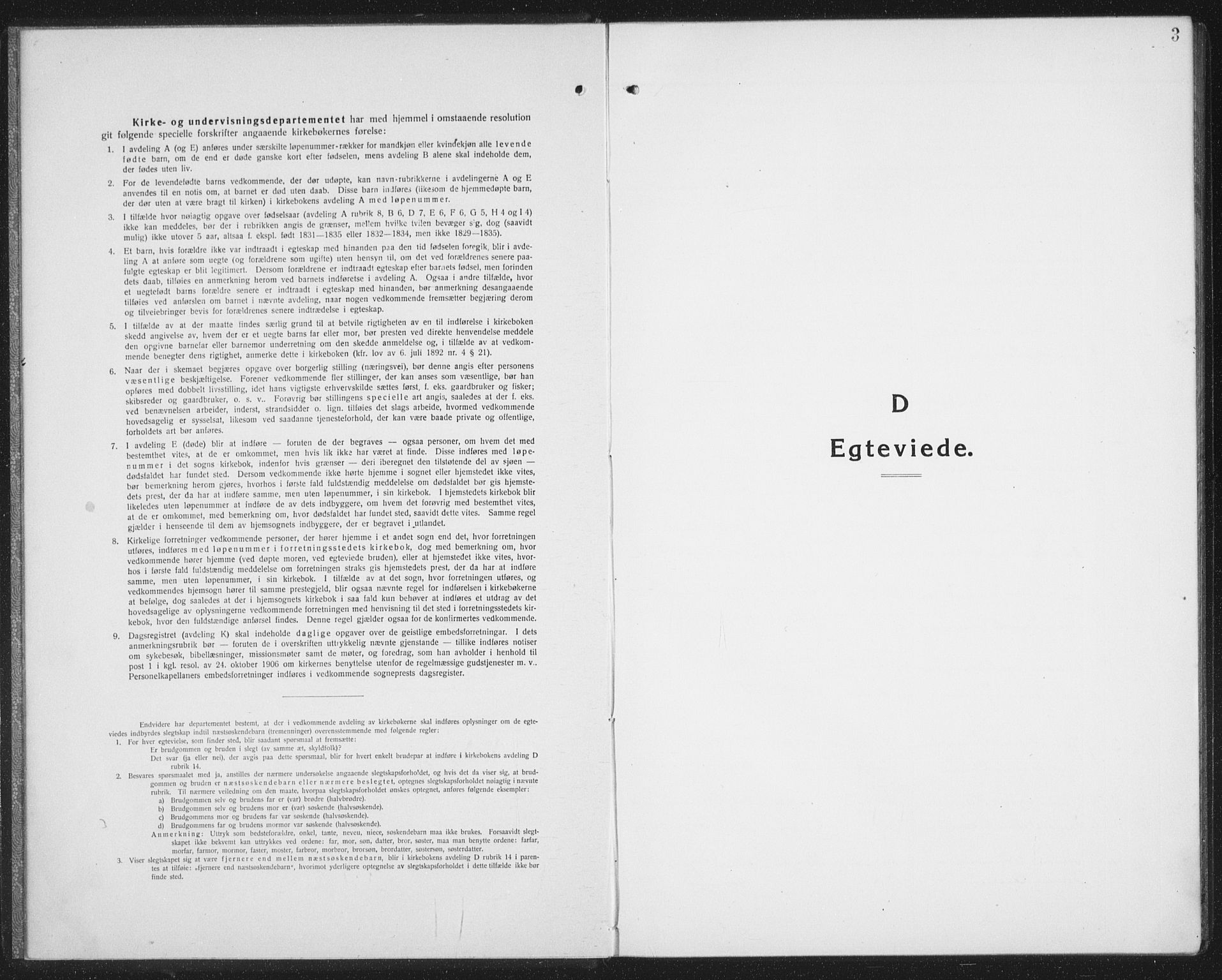 SAT, Ministerialprotokoller, klokkerbøker og fødselsregistre - Nordland, 874/L1082: Parish register (copy) no. 874C11, 1920-1939, p. 3