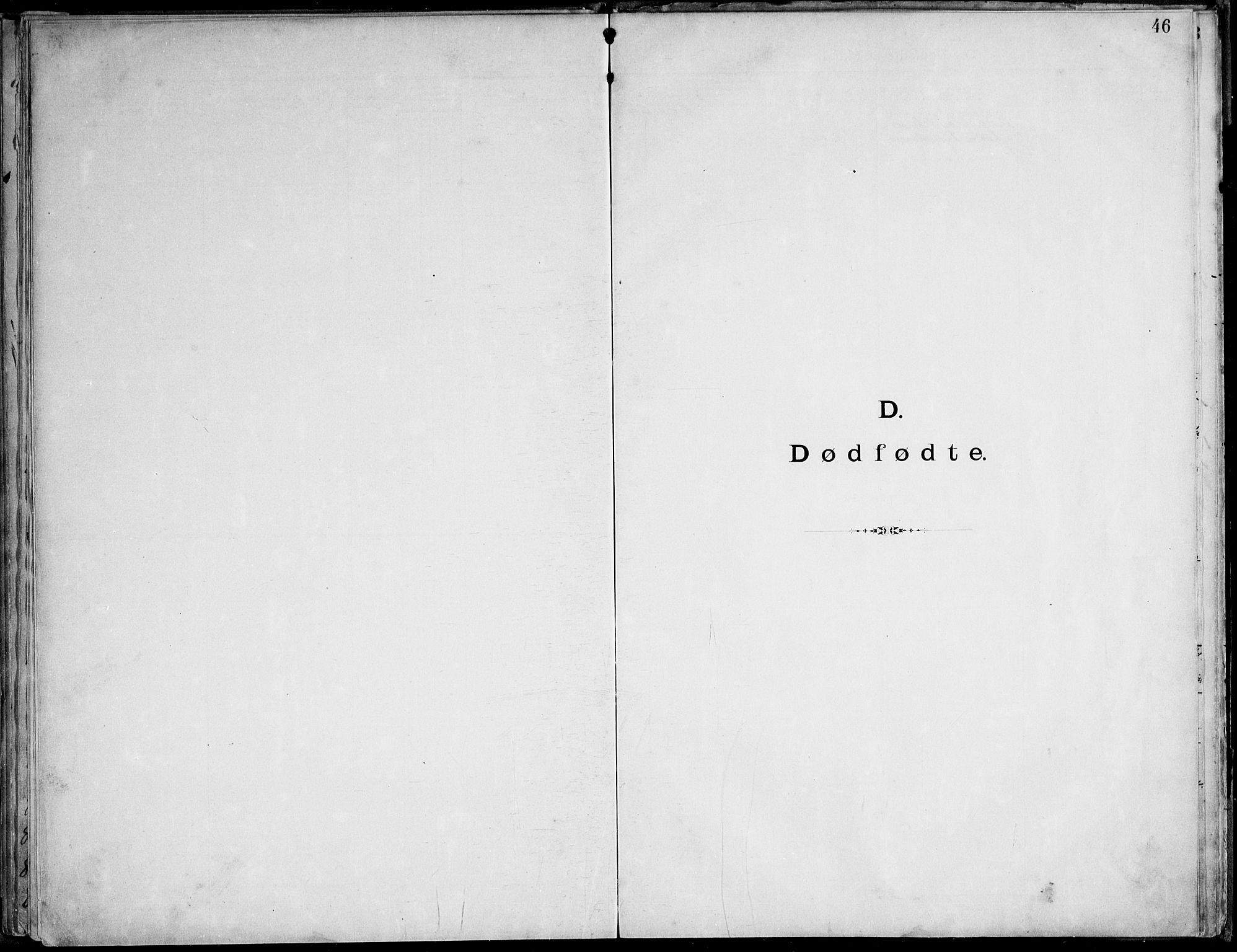 SAT, Ministerialprotokoller, klokkerbøker og fødselsregistre - Nordland, 888/L1276: Dissenter register no. 888D03, 1893-1944, p. 46