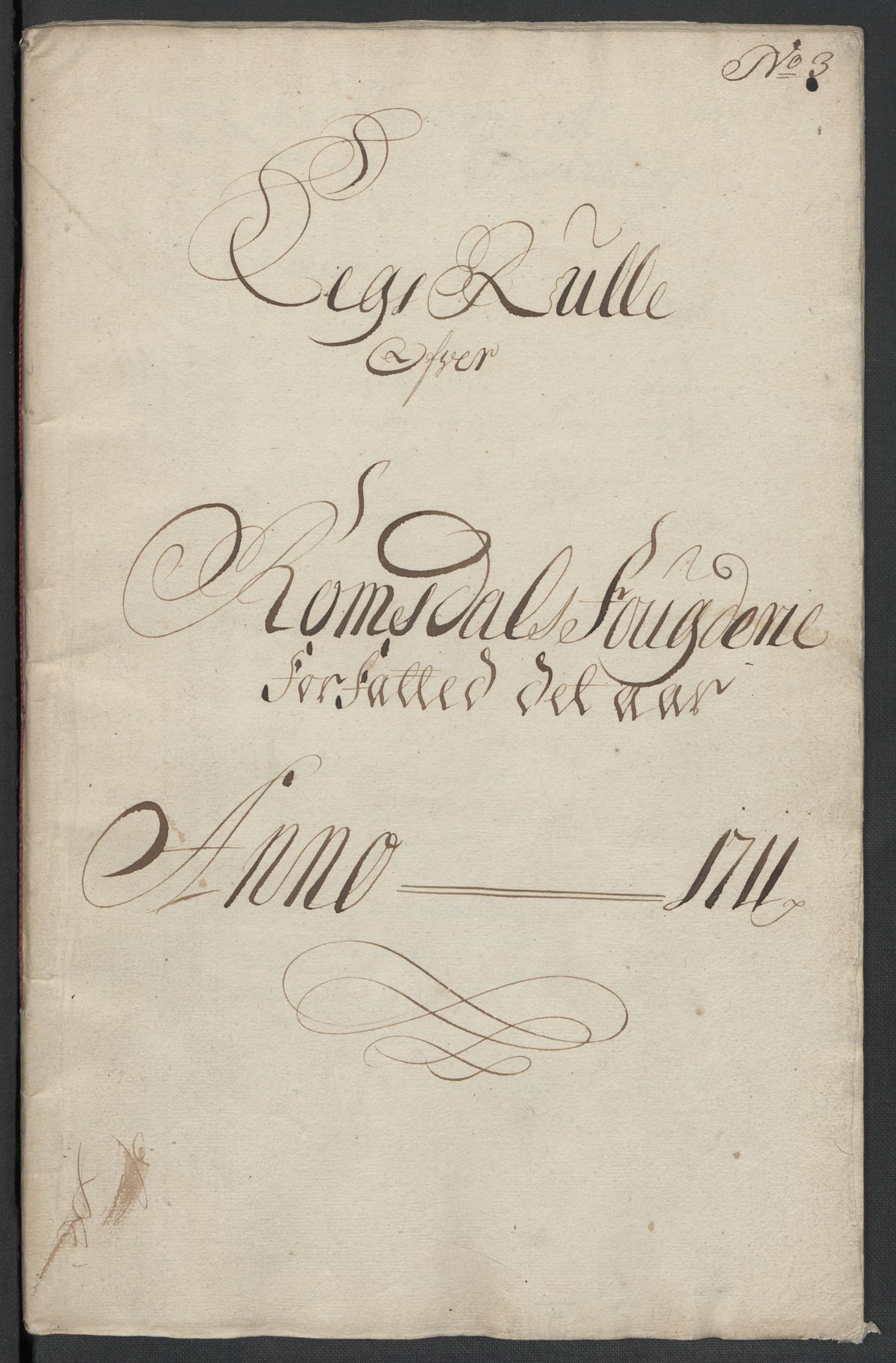 RA, Rentekammeret inntil 1814, Reviderte regnskaper, Fogderegnskap, R55/L3660: Fogderegnskap Romsdal, 1711, p. 82