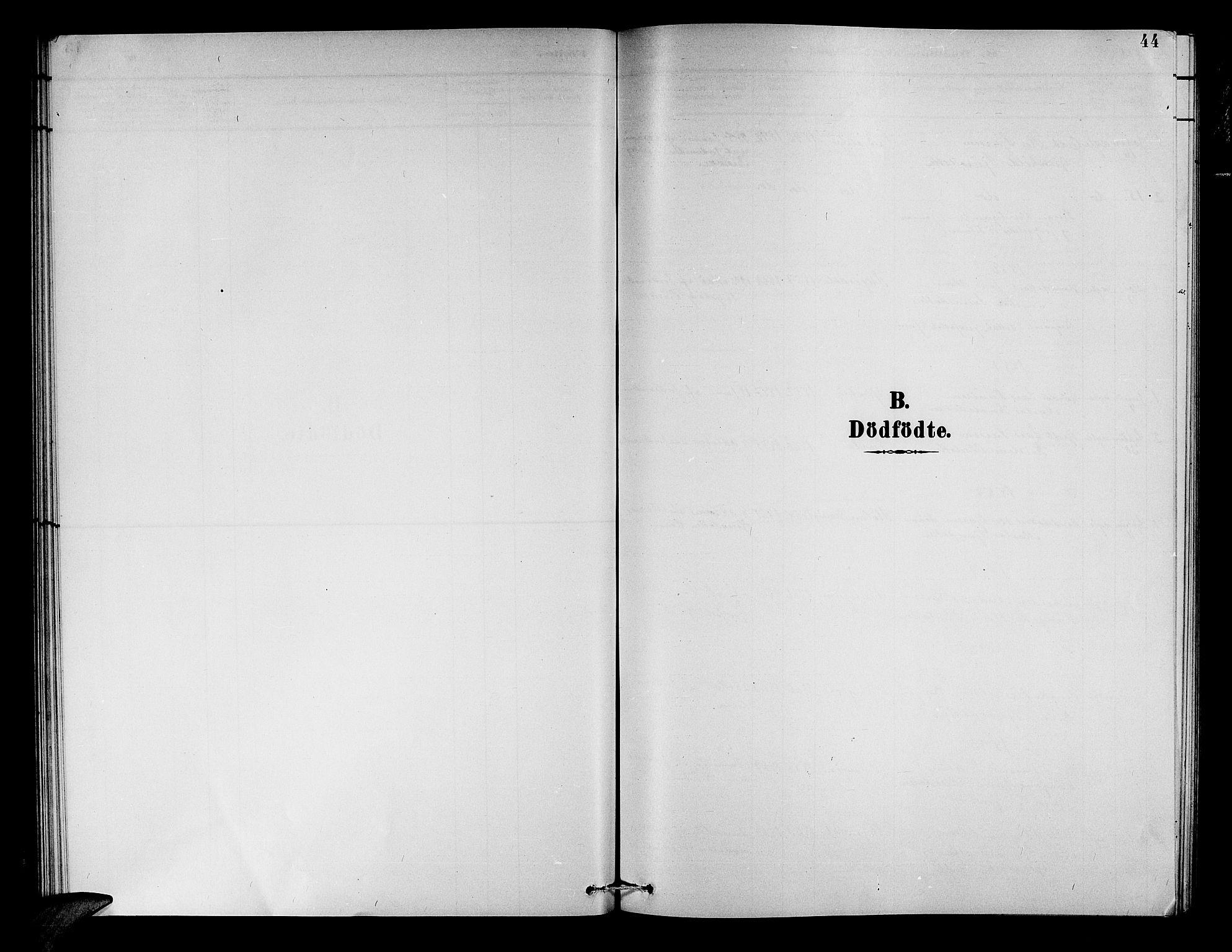 SAB, Aurland Sokneprestembete*, Parish register (copy) no. A 2, 1880-1895, p. 43