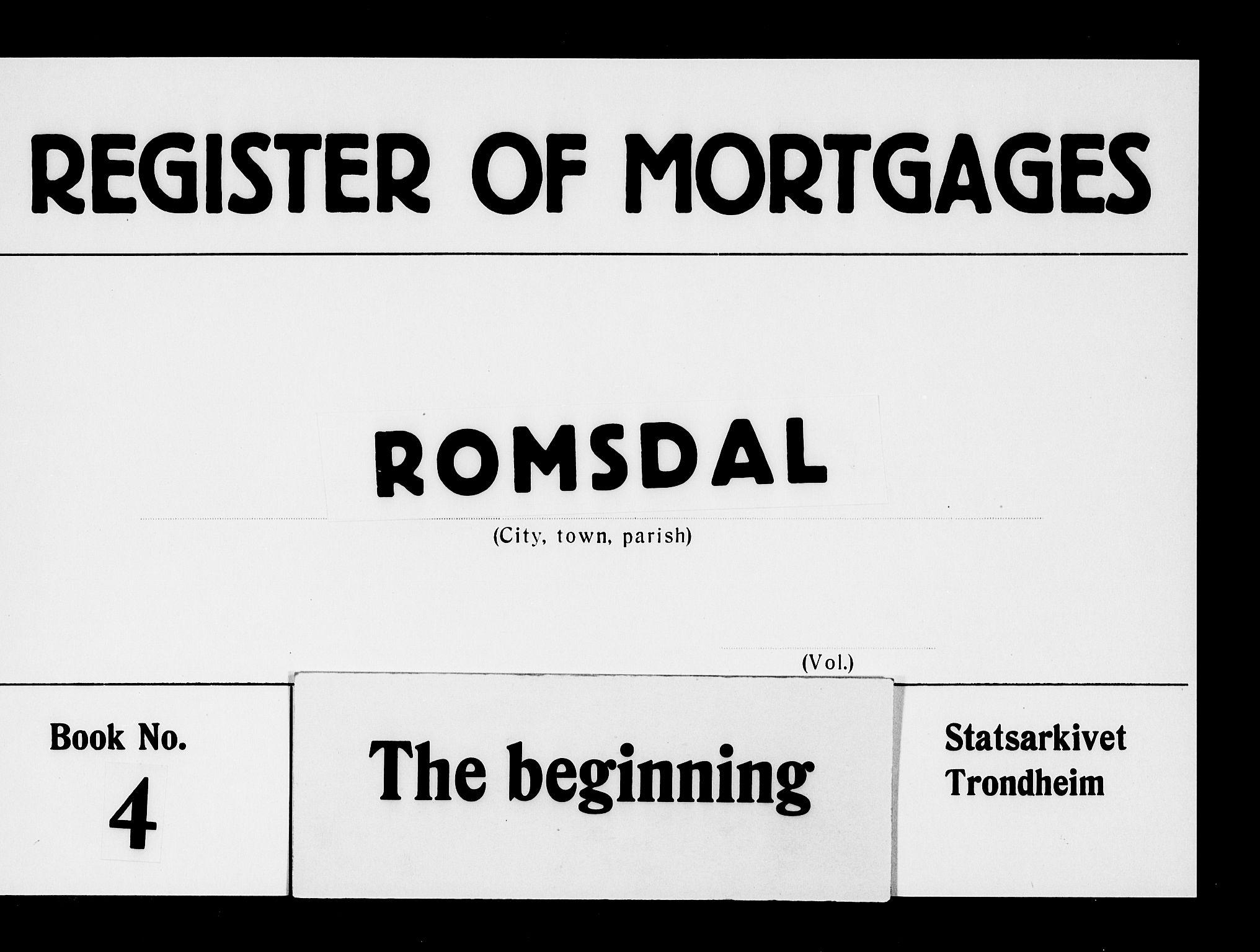 SAT, Romsdal sorenskriveri, 2/2C/L0004: Mortgage book no. 4, 1769-1790