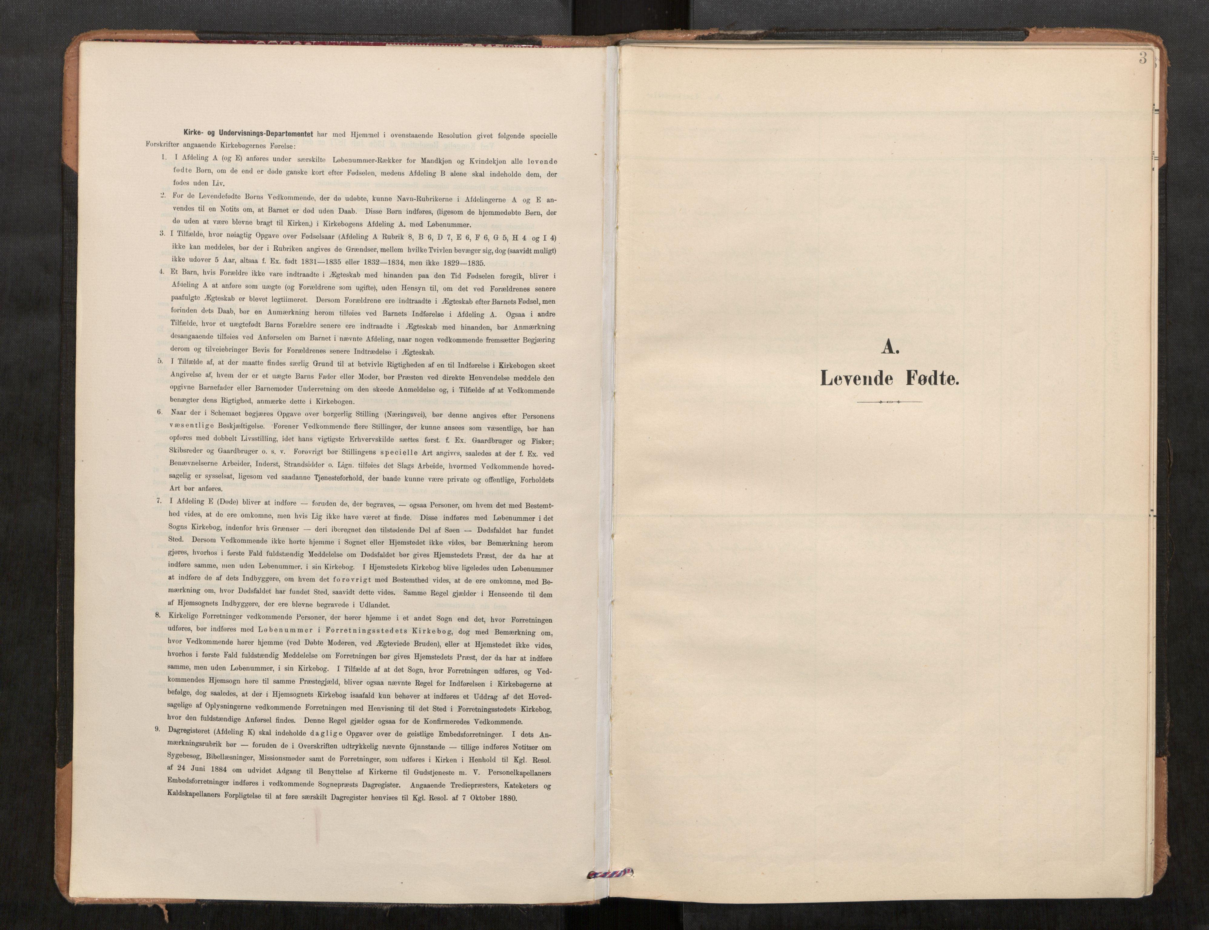 SAT, Stod sokneprestkontor, I/I1/I1a/L0001: Parish register (official) no. 1, 1900-1912, p. 3