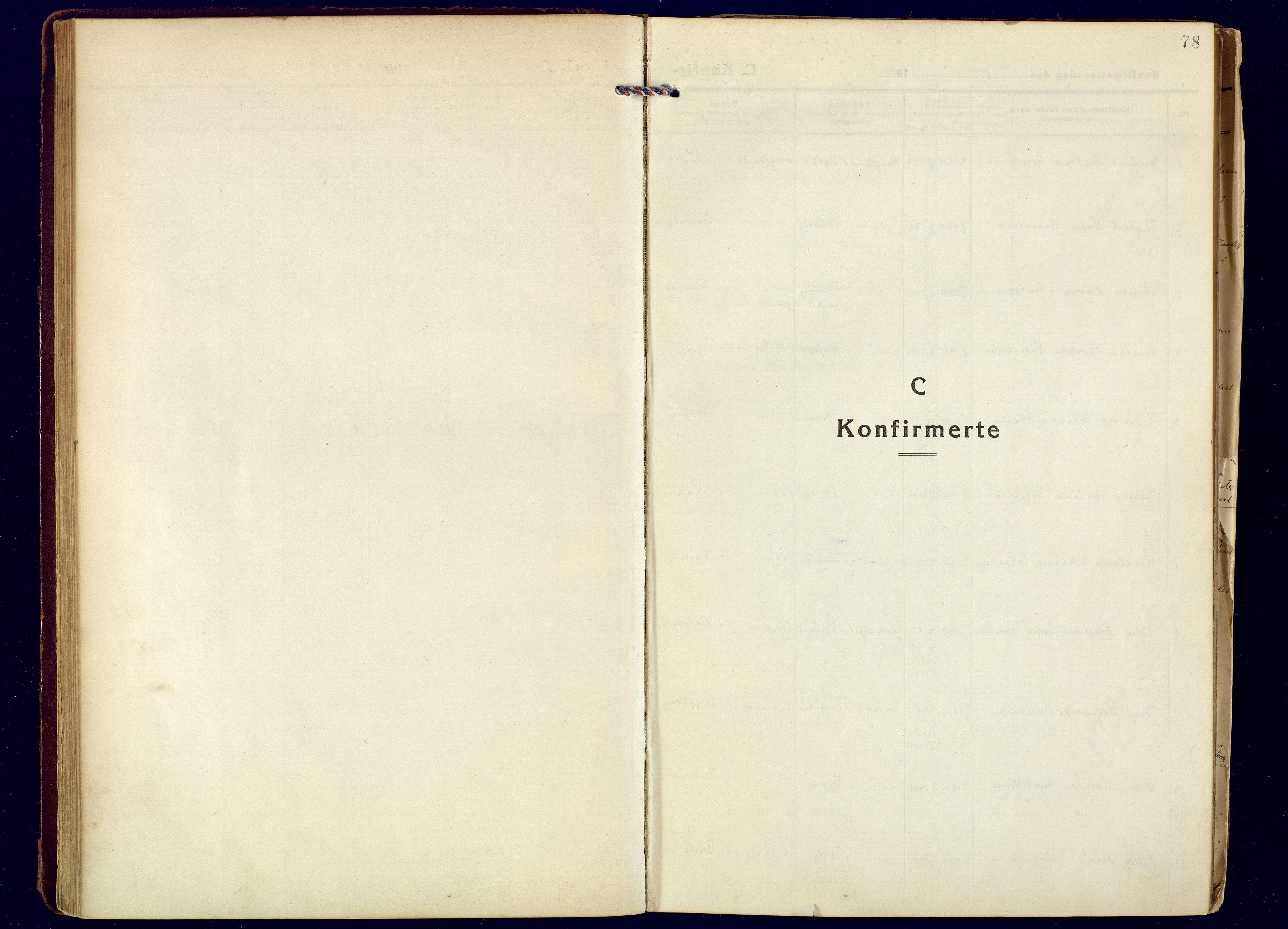 SATØ, Tranøy sokneprestkontor, I/Ia/Iaa: Parish register (official) no. 16, 1919-1932, p. 78