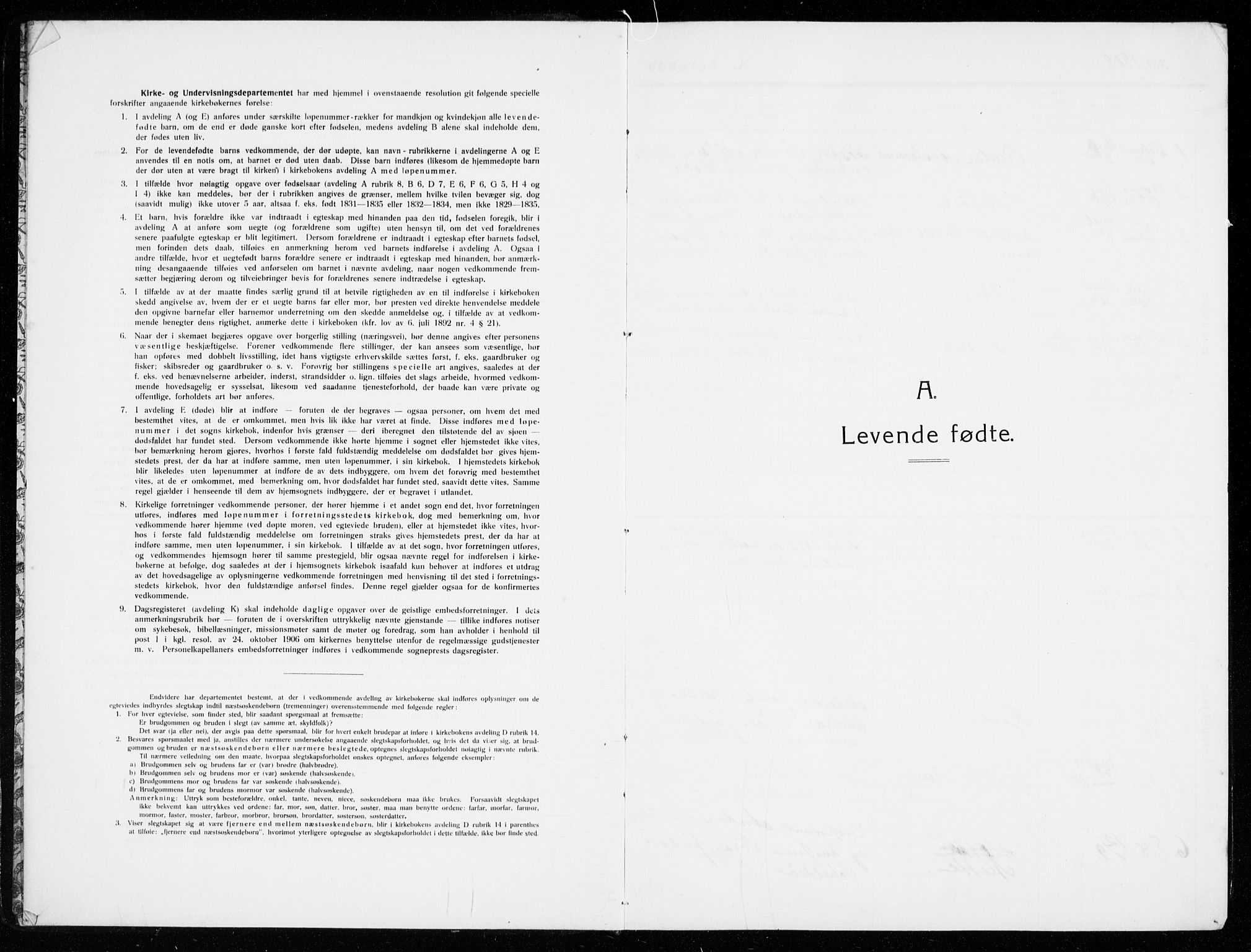 SAKO, Stavern kirkebøker, G/Ga/L0003: Parish register (copy) no. 3, 1909-1940