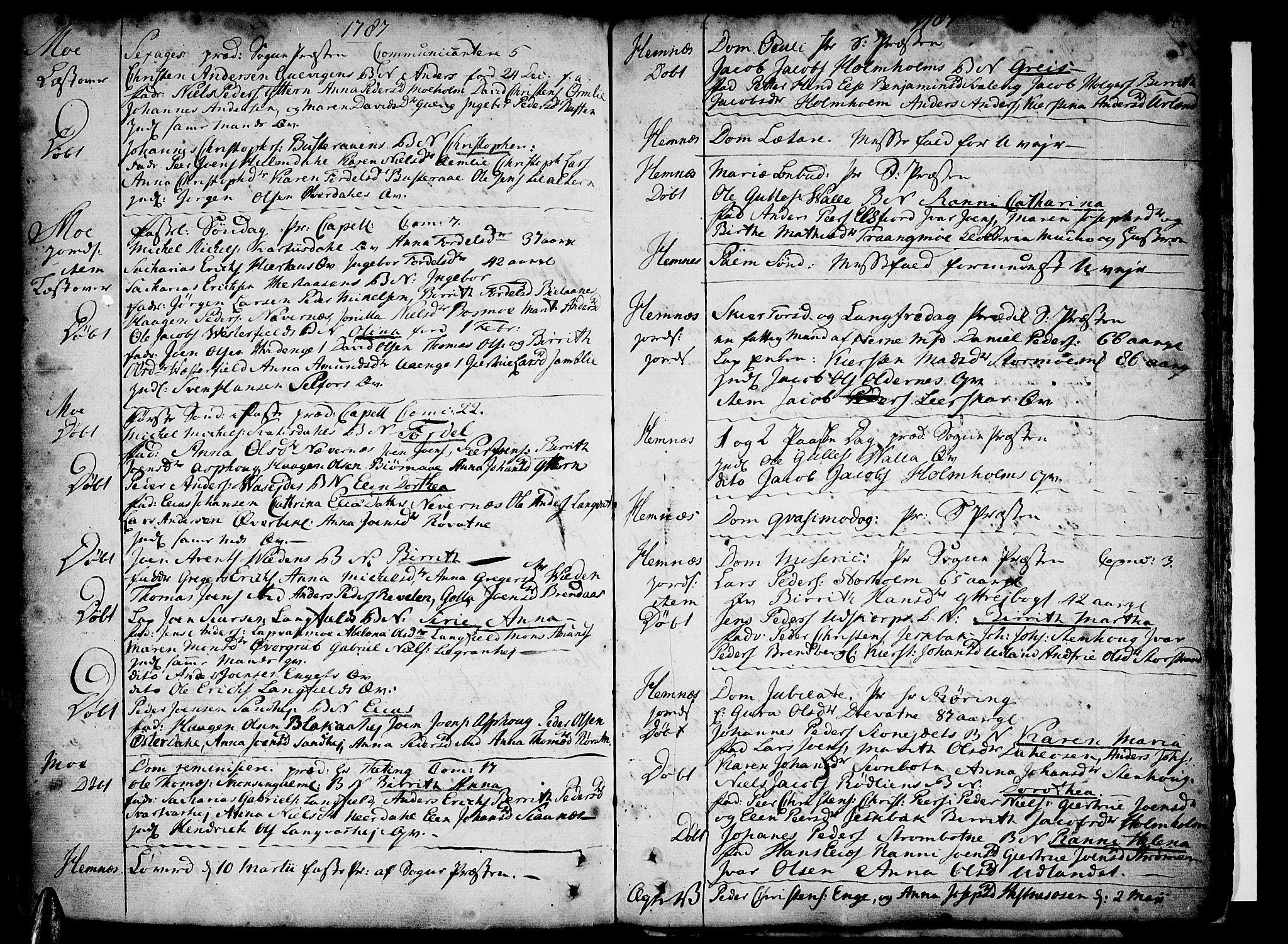 SAT, Ministerialprotokoller, klokkerbøker og fødselsregistre - Nordland, 825/L0348: Parish register (official) no. 825A04, 1752-1788, p. 358