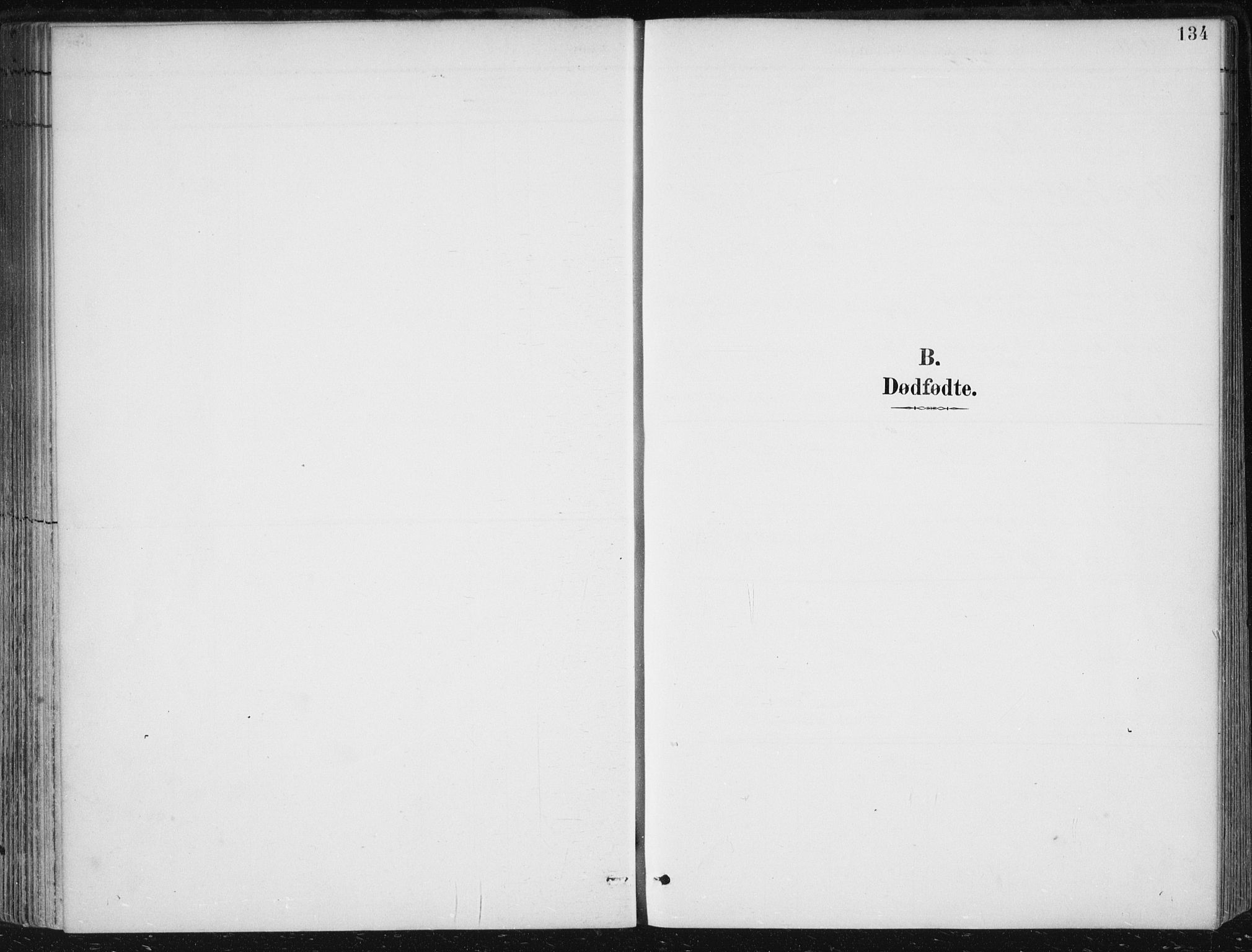 SAB, Herdla Sokneprestembete, H/Haa: Parish register (official) no. A 4, 1891-1905, p. 134