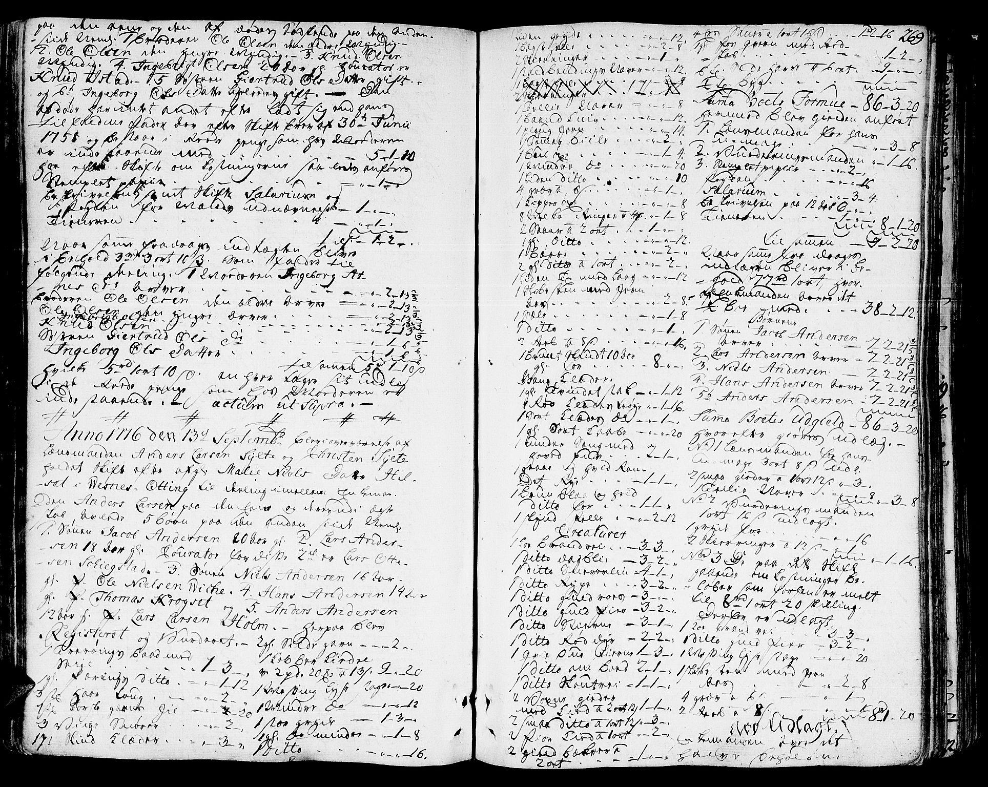 SAT, Romsdal sorenskriveri, 3/3A/L0010: Skifteprotokoll, 1774-1782, p. 268b-269a