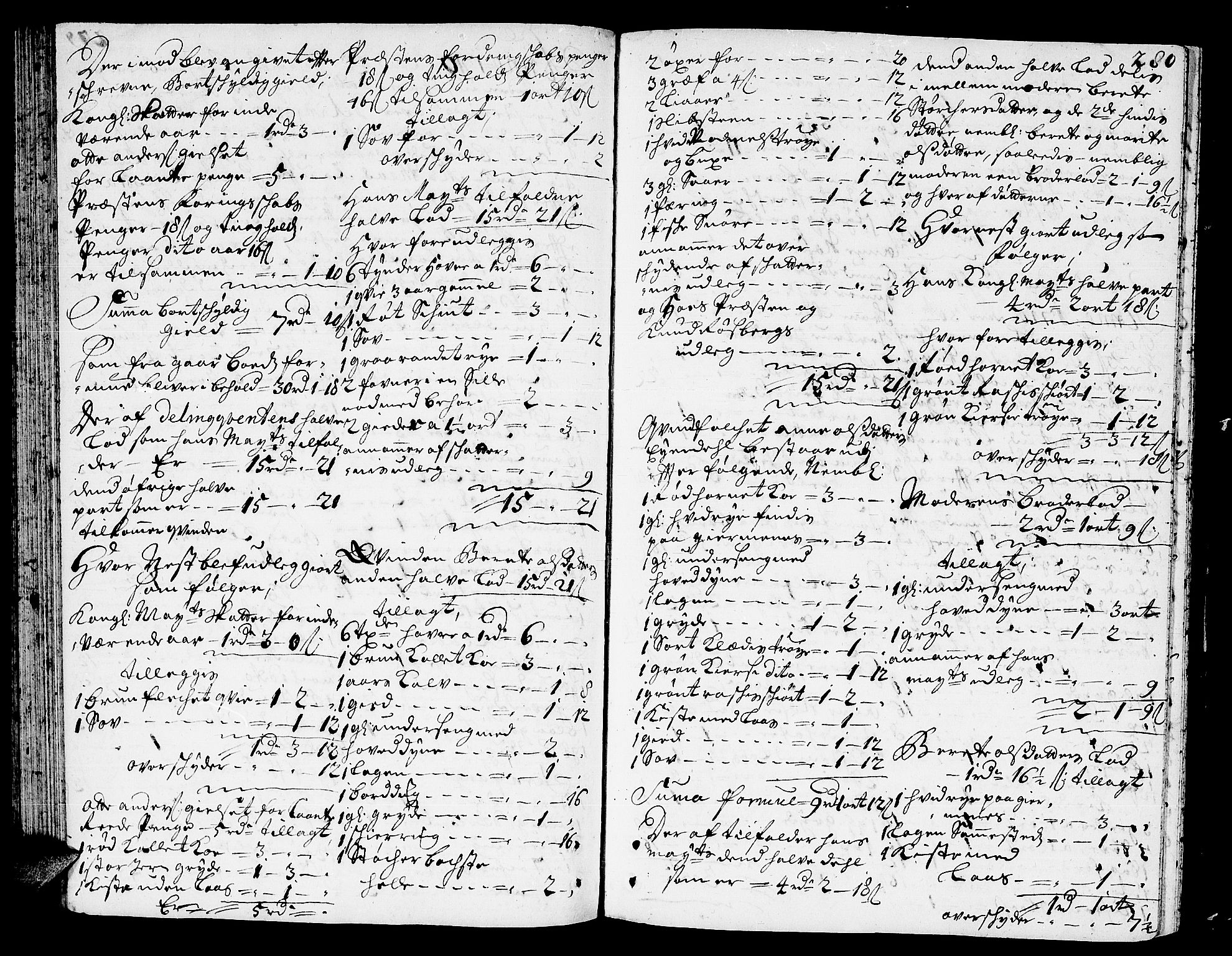 SAT, Romsdal sorenskriveri, 3/3A/L0005: Skifteprotokoll, 1707-1711, p. 279b-280a