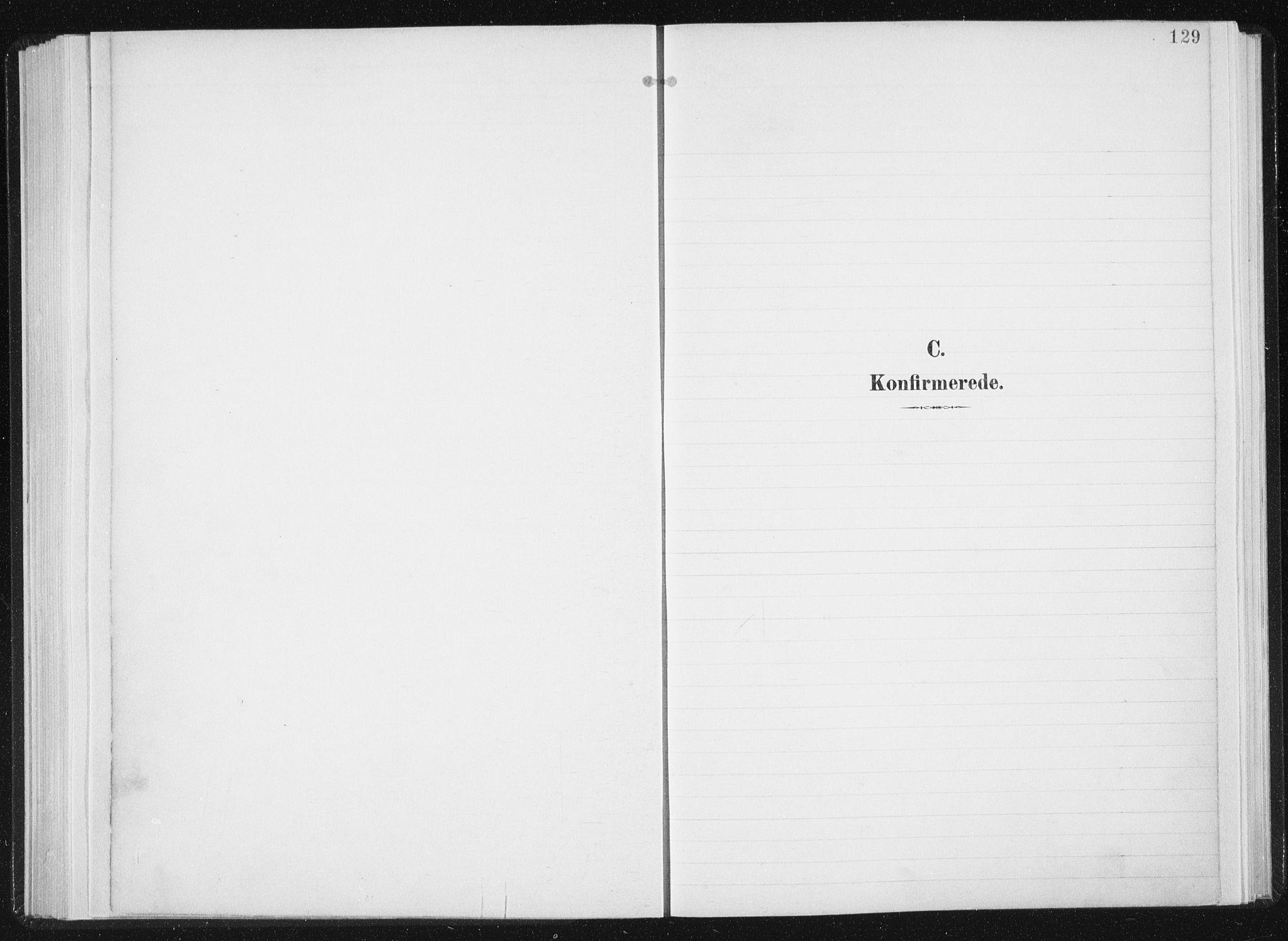 SAT, Ministerialprotokoller, klokkerbøker og fødselsregistre - Sør-Trøndelag, 647/L0635: Parish register (official) no. 647A02, 1896-1911, p. 129