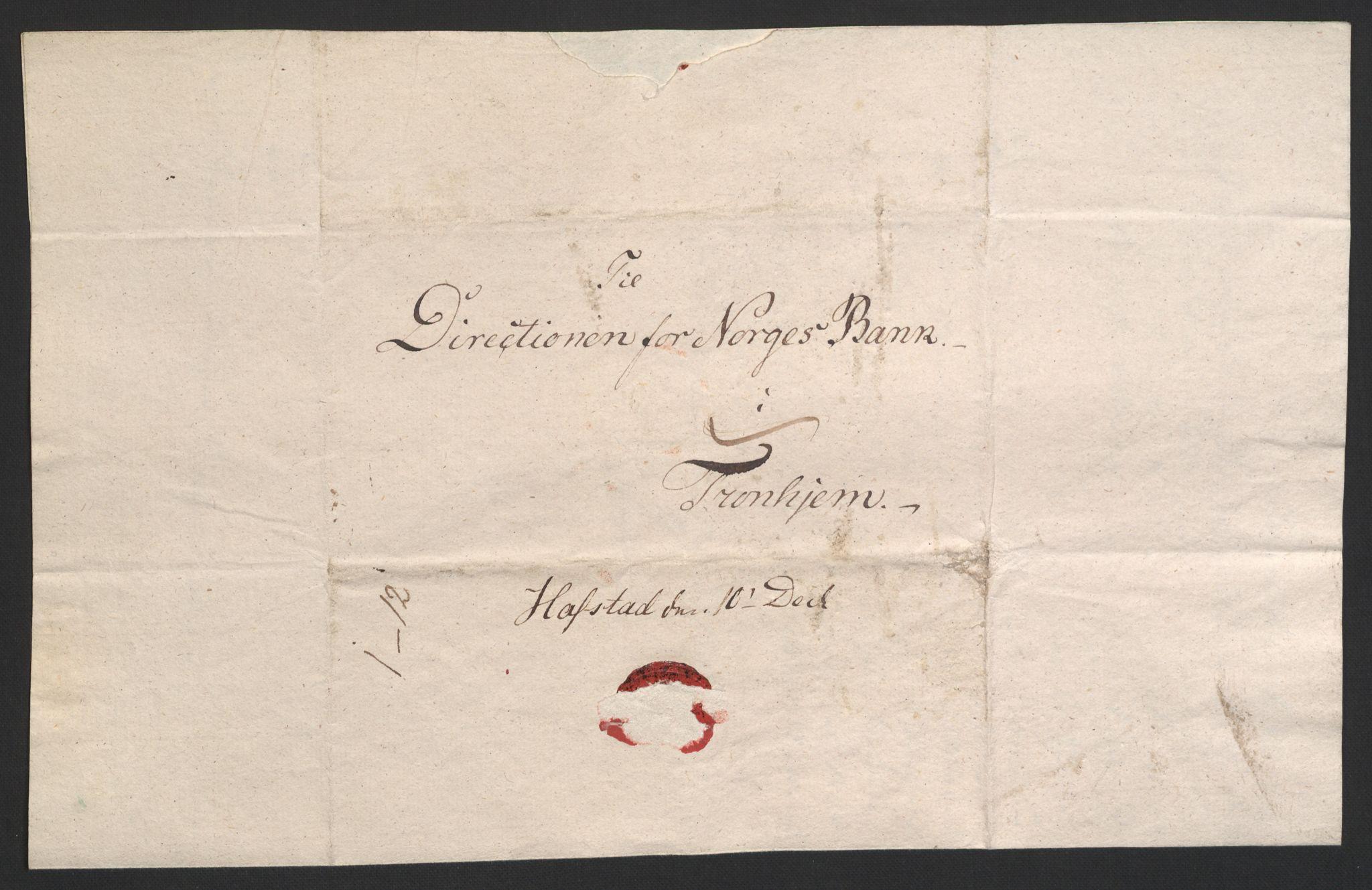 NOBA, Norges Bank/Sølvskatten 1816*, 1816-1828, p. 36