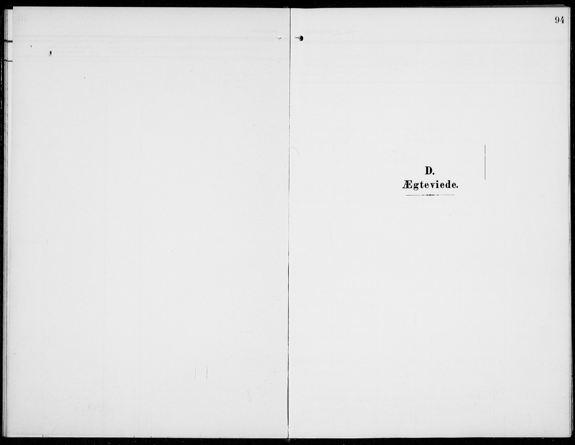 SAH, Sel prestekontor, Parish register (official) no. 1, 1905-1922, p. 94