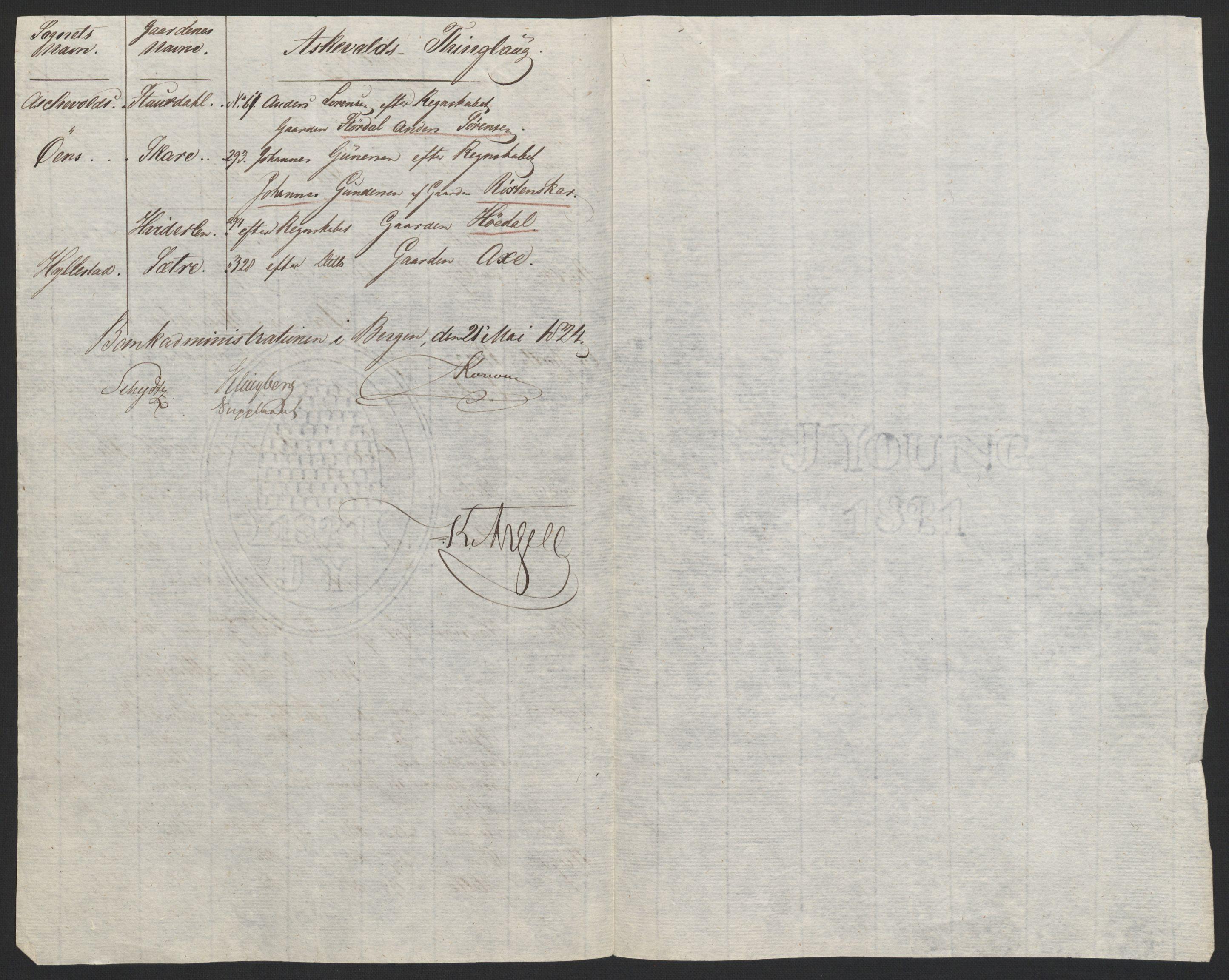 NOBA, Norges Bank/Sølvskatten 1816*, 1816-1828, p. 149