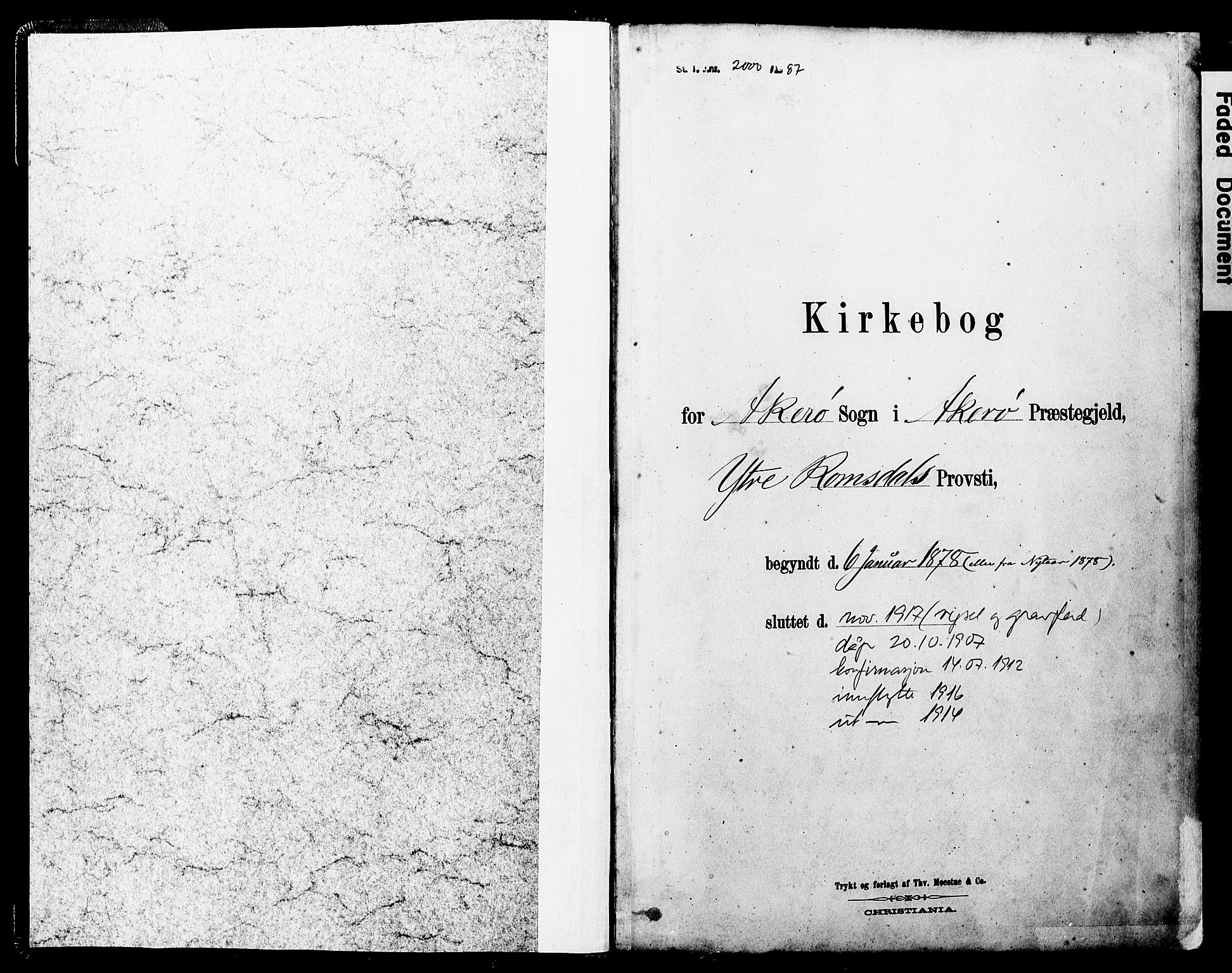 SAT, Ministerialprotokoller, klokkerbøker og fødselsregistre - Møre og Romsdal, 560/L0721: Parish register (official) no. 560A05, 1878-1917