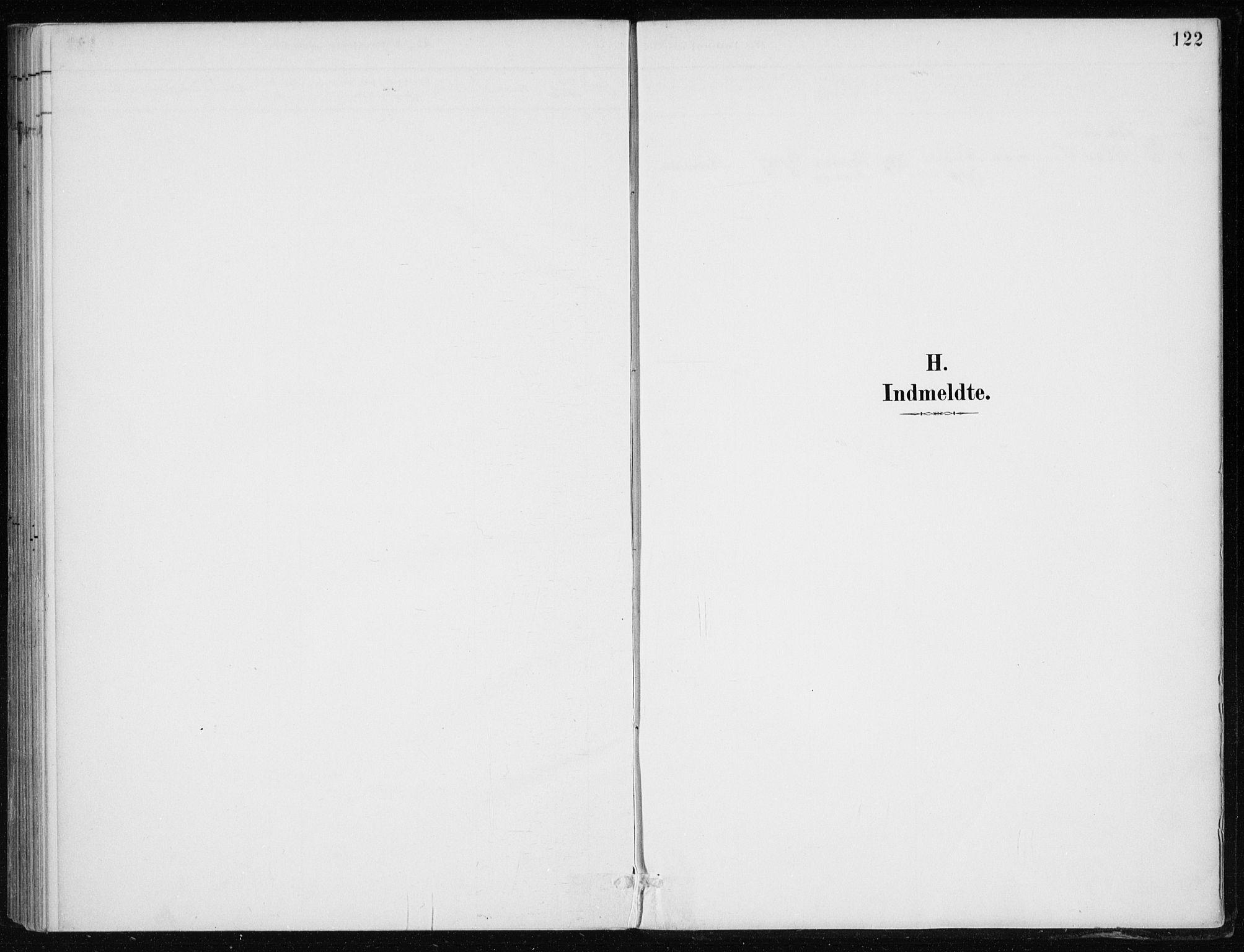 SAB, Kvinnherad Sokneprestembete, H/Haa: Parish register (official) no. F 1, 1887-1912, p. 122