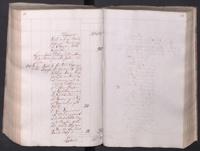 SAO, Kristiania stiftamt, I/Ia/L0015: Branntakster, 1797, p. 281