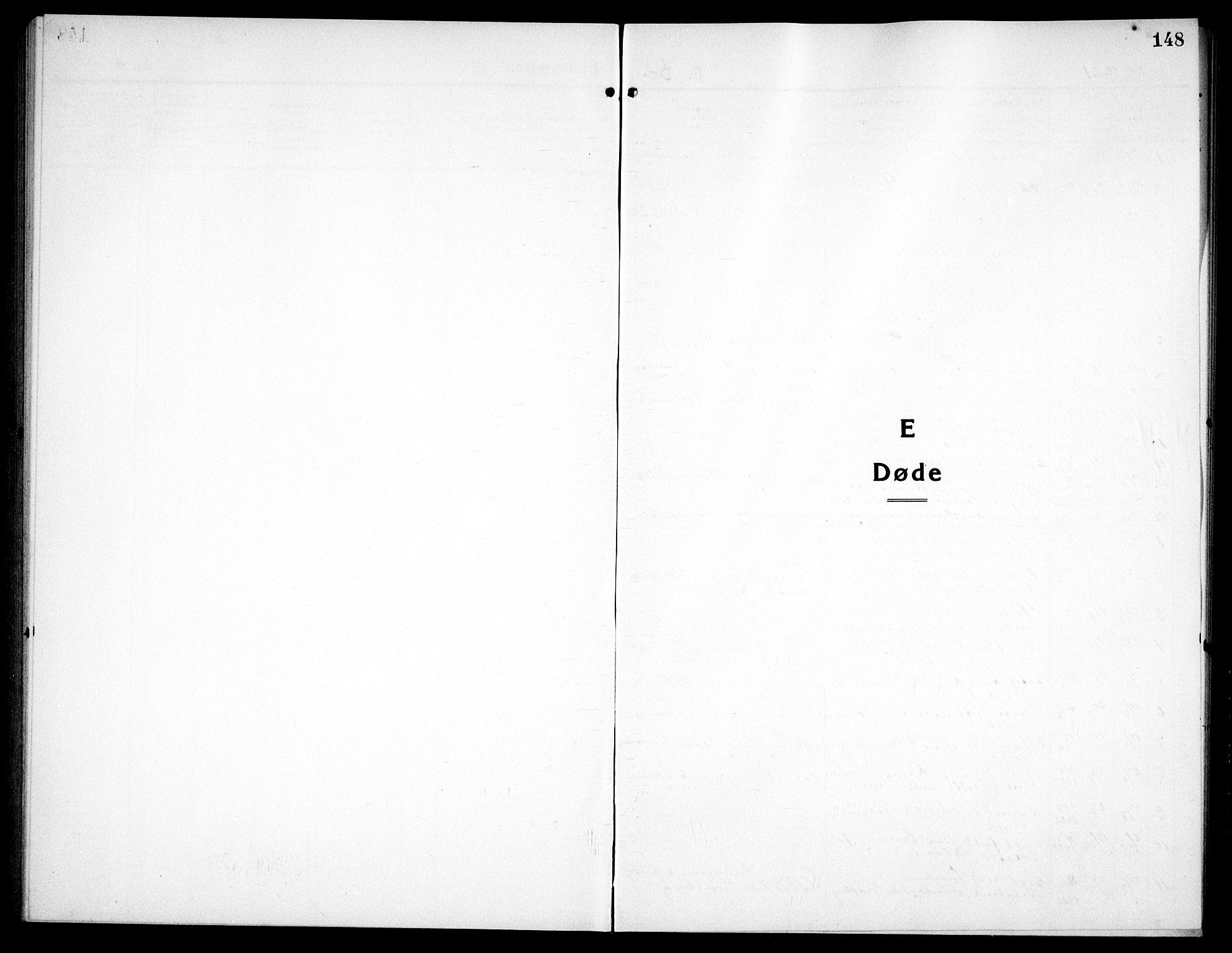 SAT, Ministerialprotokoller, klokkerbøker og fødselsregistre - Sør-Trøndelag, 656/L0696: Parish register (copy) no. 656C02, 1921-1937, p. 148