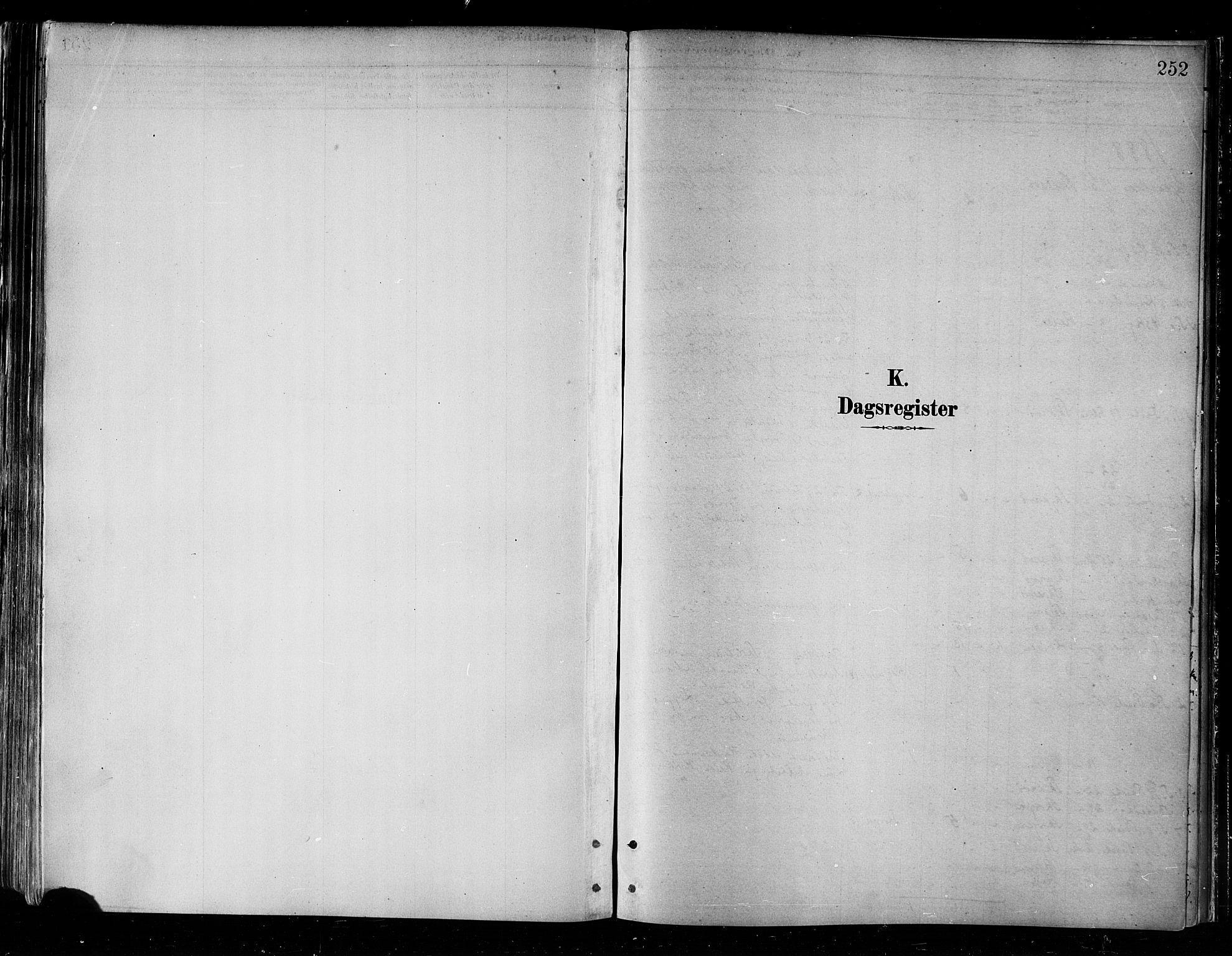 SATØ, Skjervøy sokneprestkontor, H/Ha/Haa/L0010kirke: Parish register (official) no. 10, 1887-1898, p. 252
