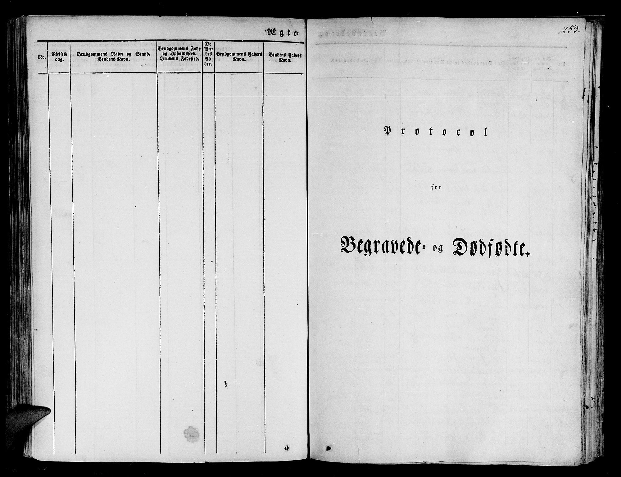 SATØ, Tranøy sokneprestkontor, I/Ia/Iaa/L0005kirke: Parish register (official) no. 5, 1829-1844, p. 253