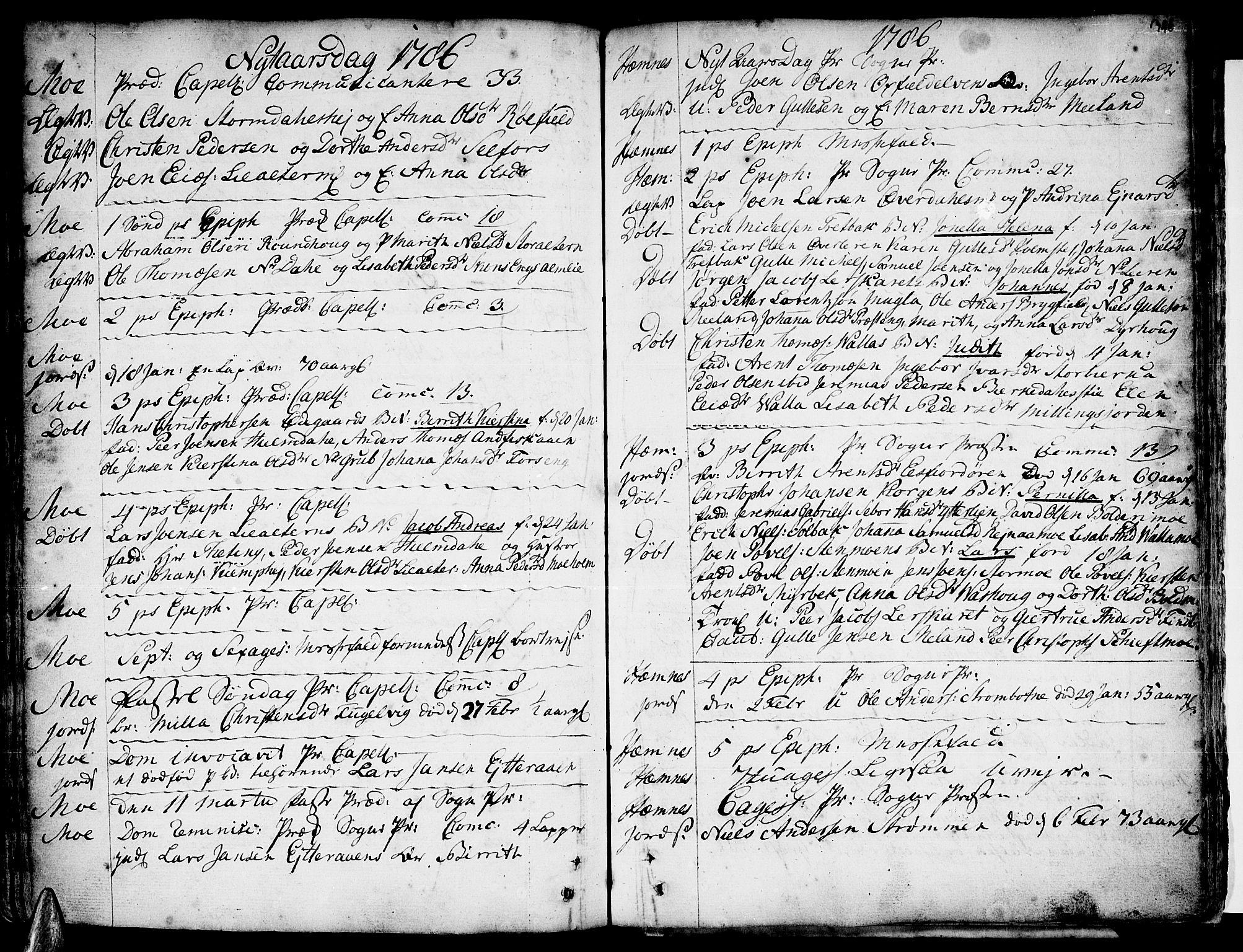 SAT, Ministerialprotokoller, klokkerbøker og fødselsregistre - Nordland, 825/L0348: Parish register (official) no. 825A04, 1752-1788, p. 346