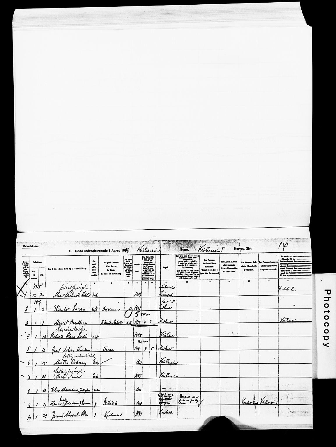SAT, Ministerialprotokoller, klokkerbøker og fødselsregistre - Møre og Romsdal, 572/L0860: Parish register (official) no. 572D04, 1903-1916