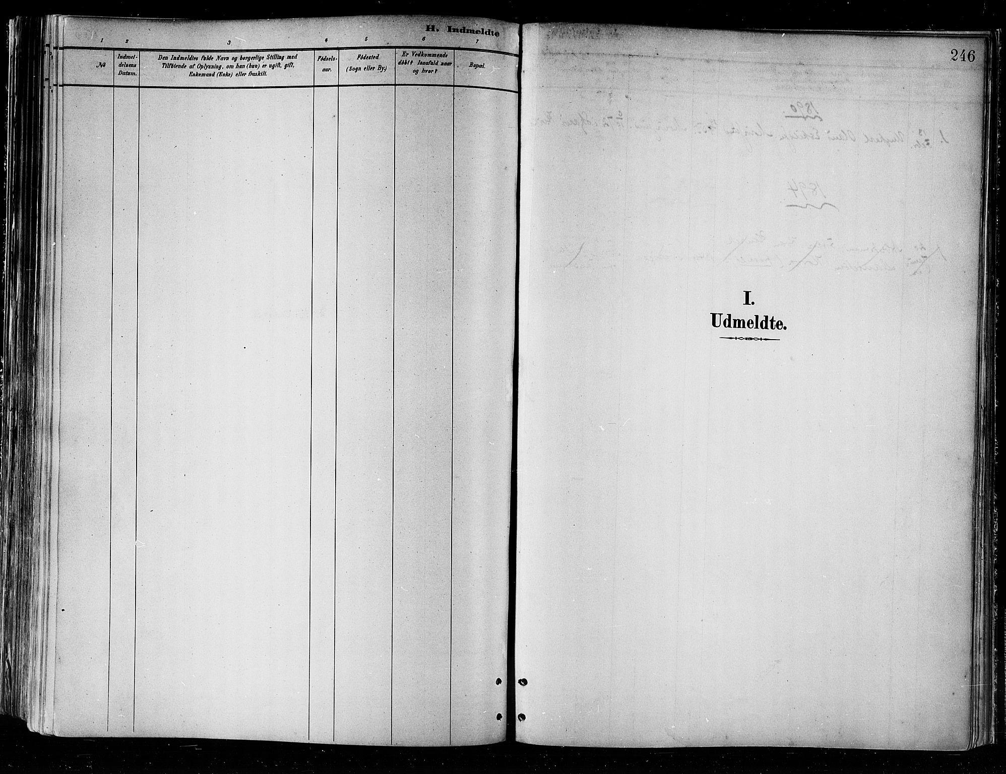 SATØ, Skjervøy sokneprestkontor, H/Ha/Haa/L0010kirke: Parish register (official) no. 10, 1887-1898, p. 246