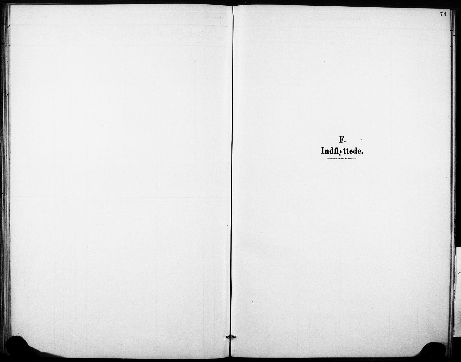 SAKO, Fyresdal kirkebøker, F/Fb/L0003: Parish register (official) no. II 3, 1887-1903, p. 74