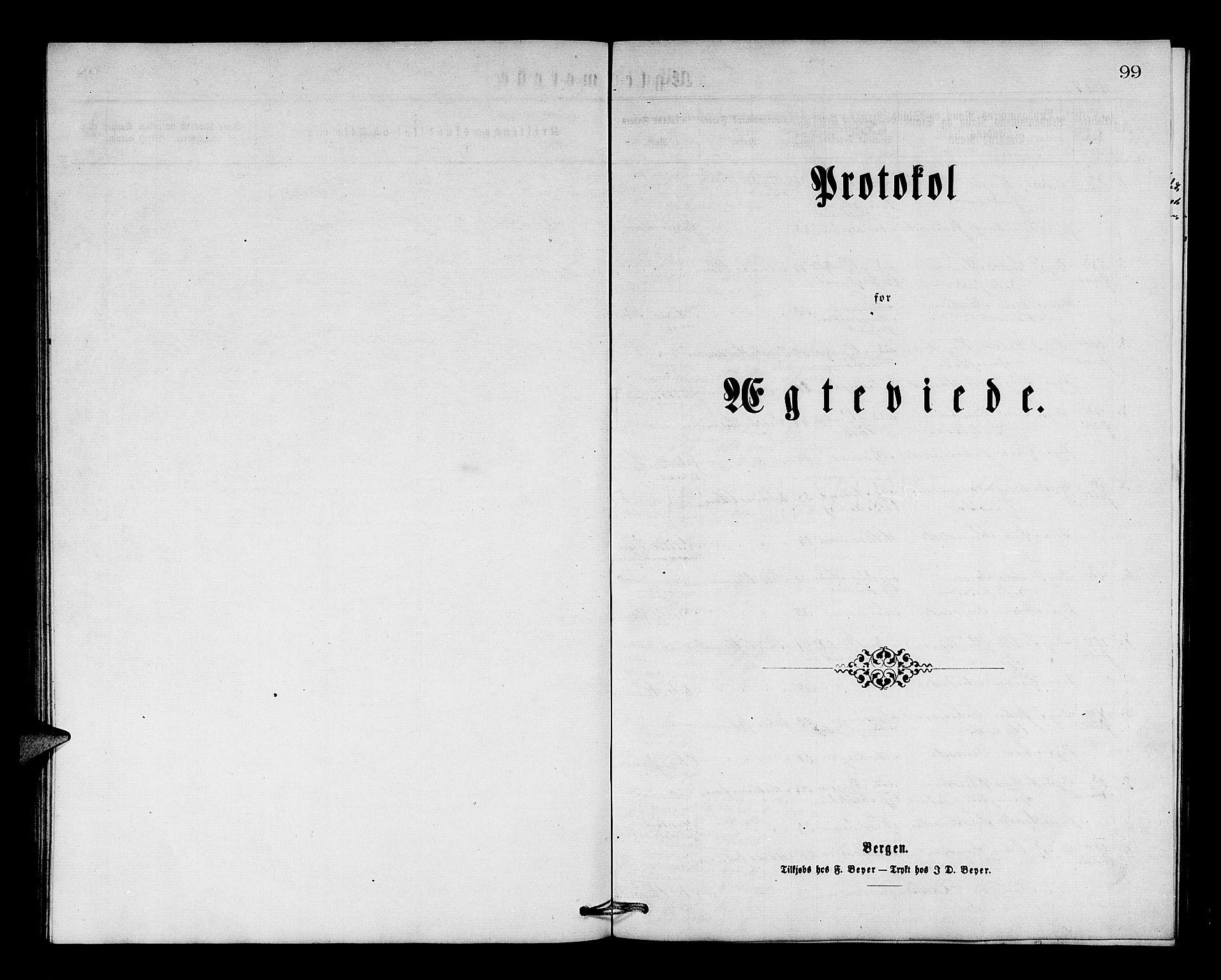 SAB, Os sokneprestembete*, Parish register (copy) no. A 1, 1869-1879, p. 99