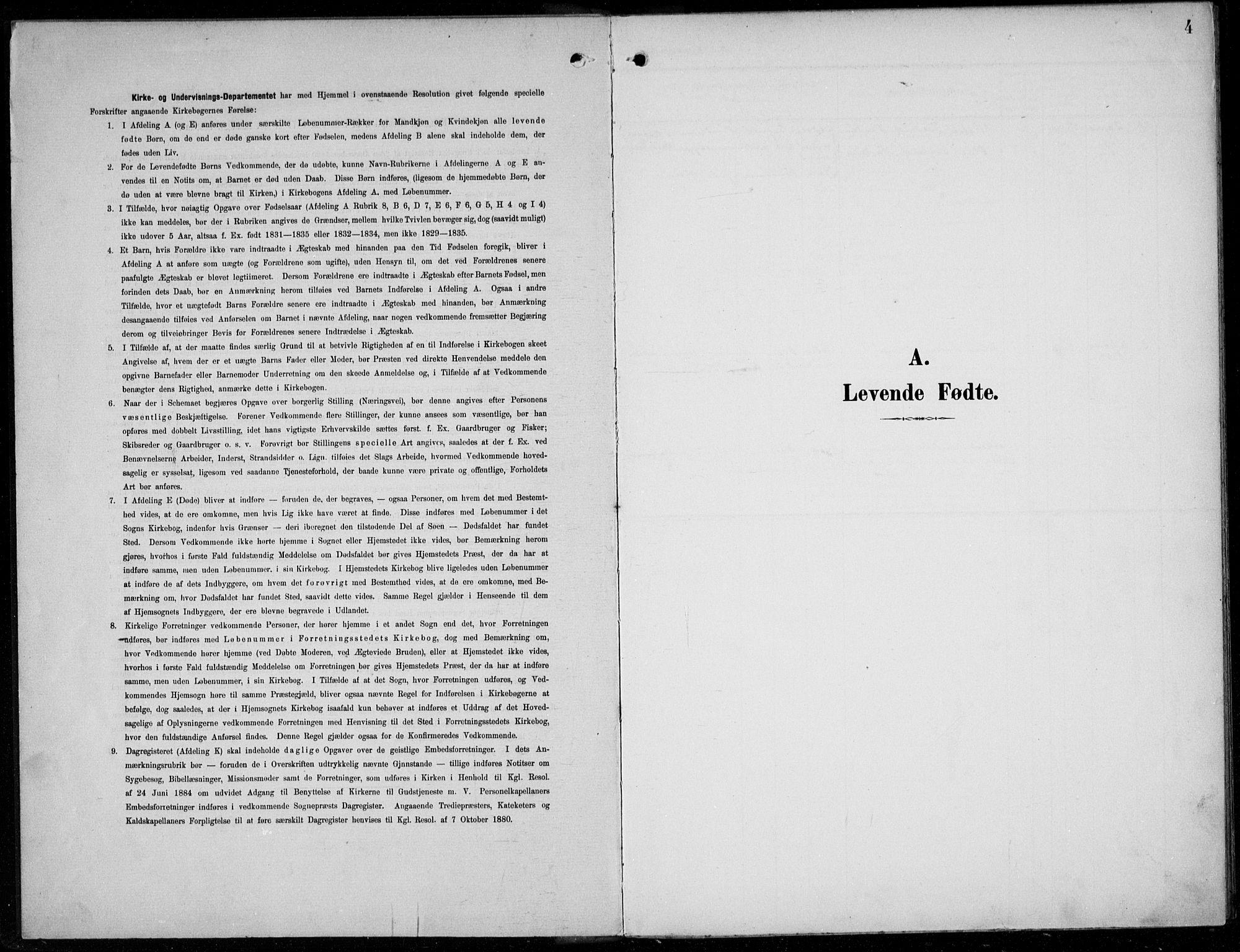 SAB, Parish register (official) no. A  1, 1900-1939, p. 4
