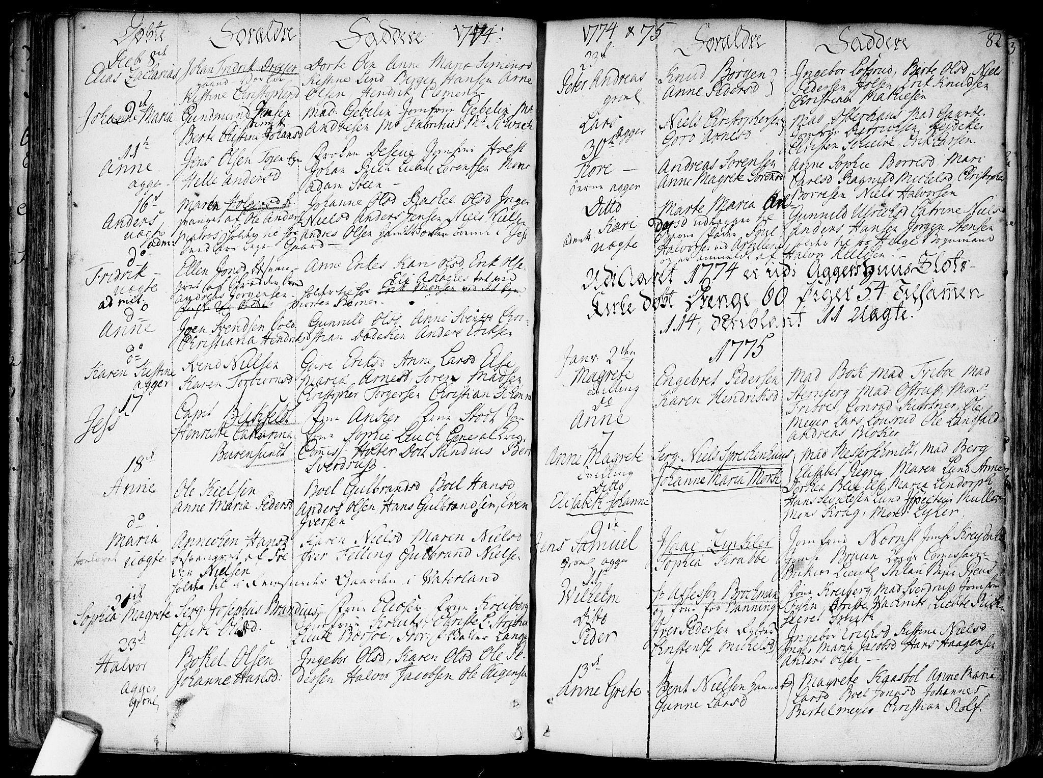 SAO, Garnisonsmenigheten Kirkebøker, F/Fa/L0002: Parish register (official) no. 2, 1757-1776, p. 82