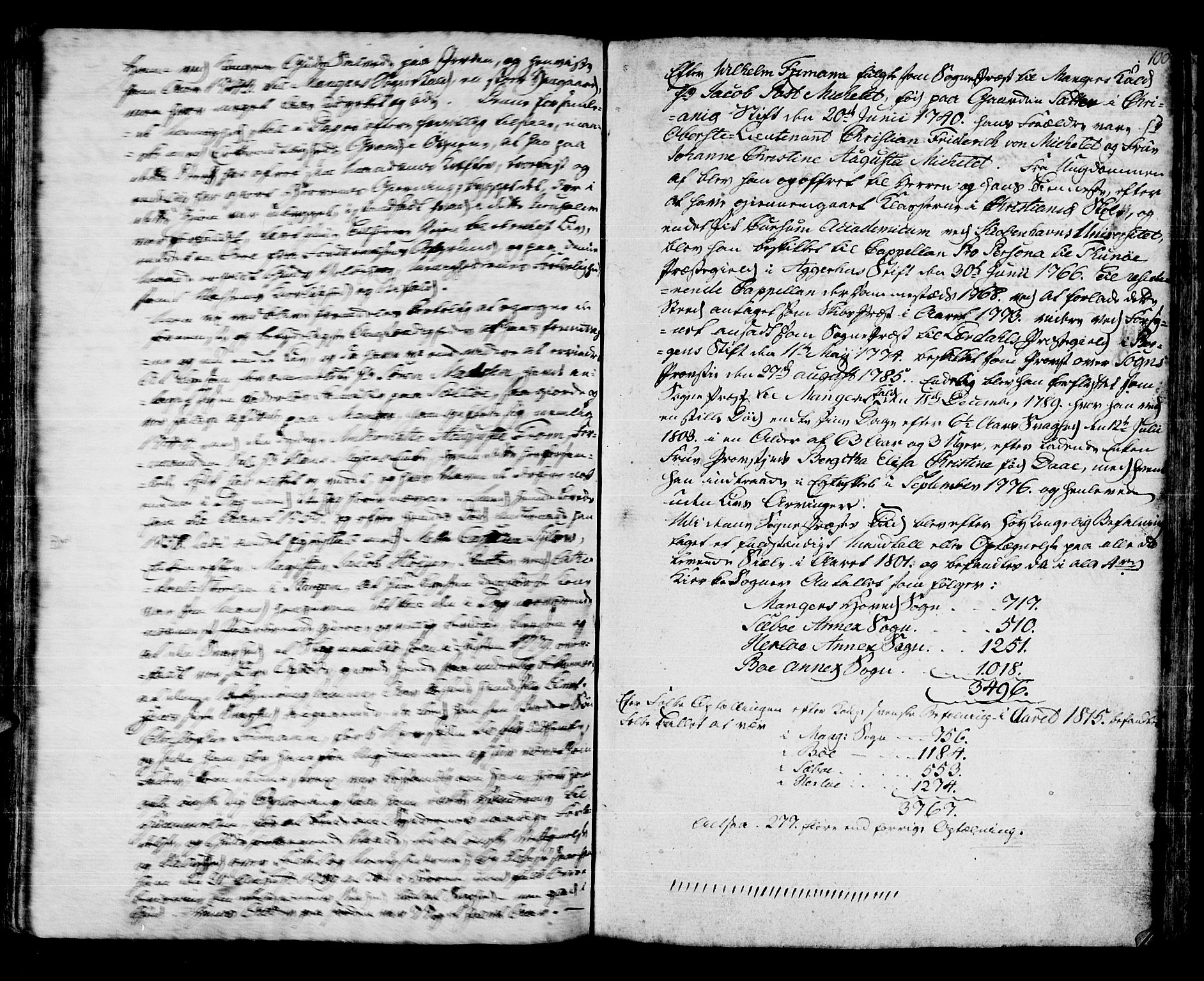 SAB, Manger sokneprestembete, H/Haa: Parish register (official) no. A 2, 1792-1815, p. 155