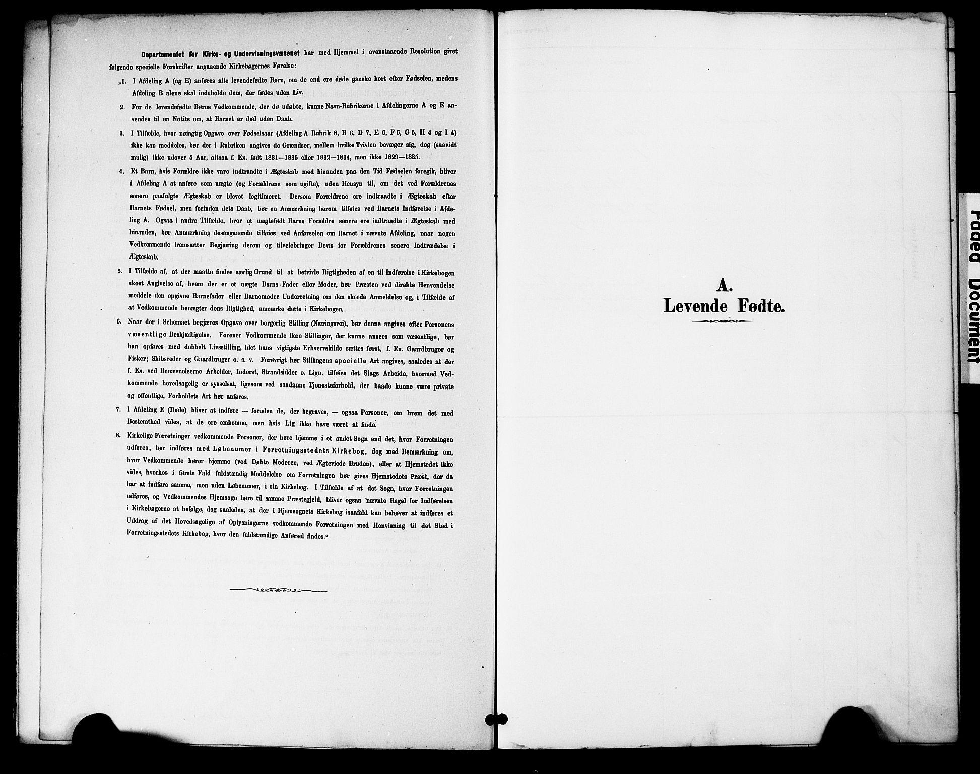 SAK, Bygland sokneprestkontor, F/Fa/Fac/L0001: Parish register (official) no. A 1, 1885-1909