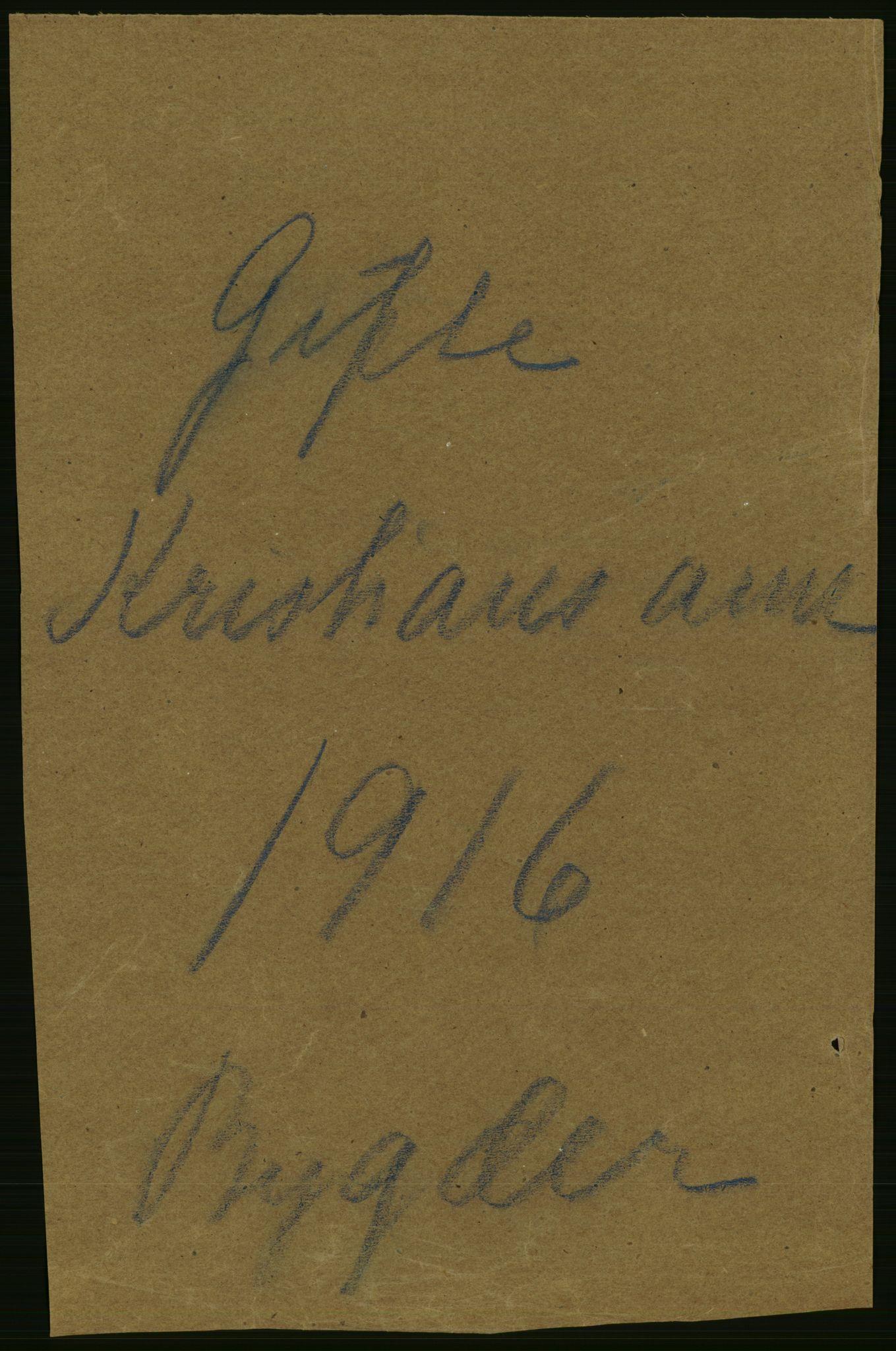 RA, Statistisk sentralbyrå, Sosiodemografiske emner, Befolkning, D/Df/Dfb/Dfbf/L0015: Kristians amt: Gifte, dødfødte. Bygder og byer., 1916